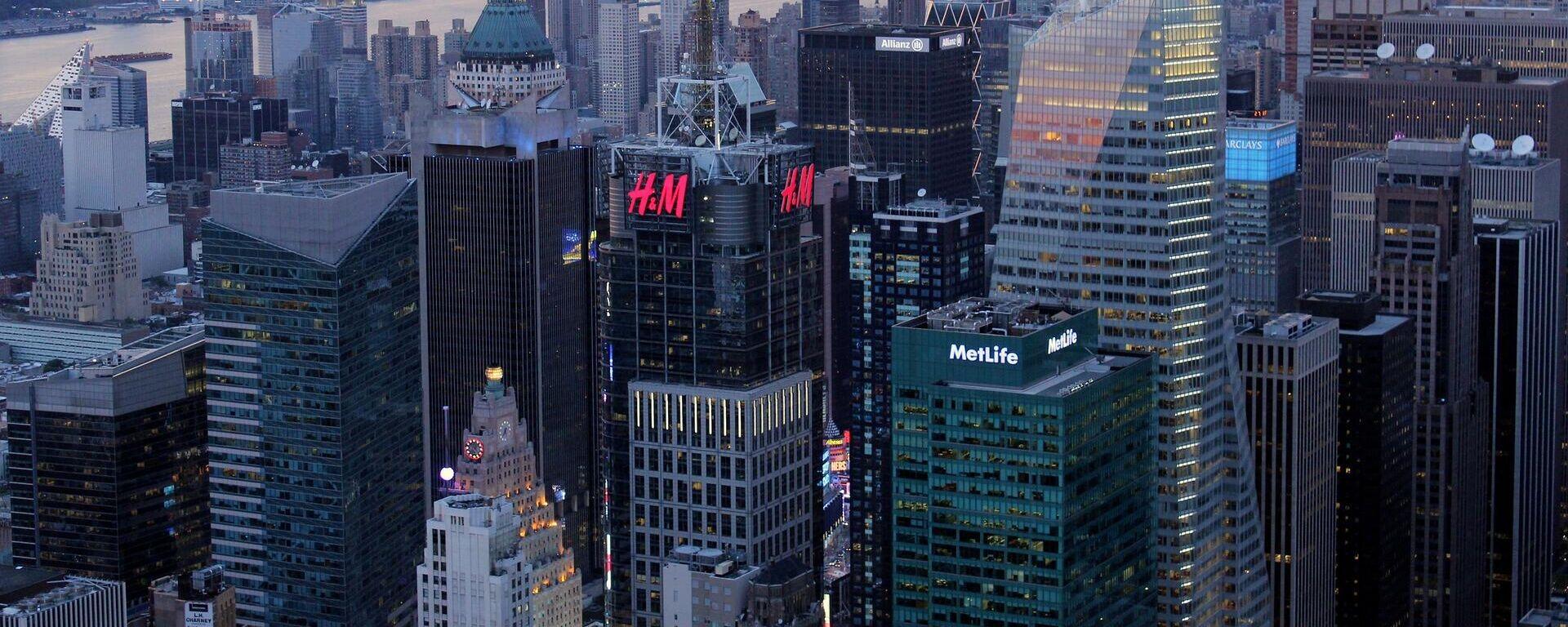 H&M, New York, Symbolbild - SNA, 1920, 05.02.2021