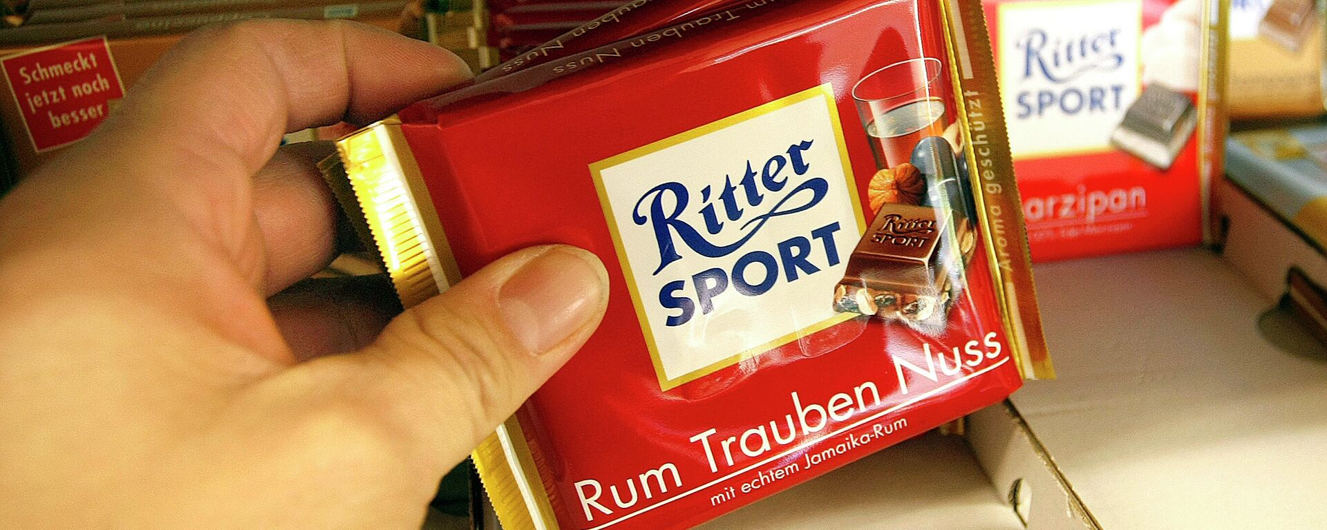 Ritter Sport Schokolade - SNA, 1920, 01.02.2021