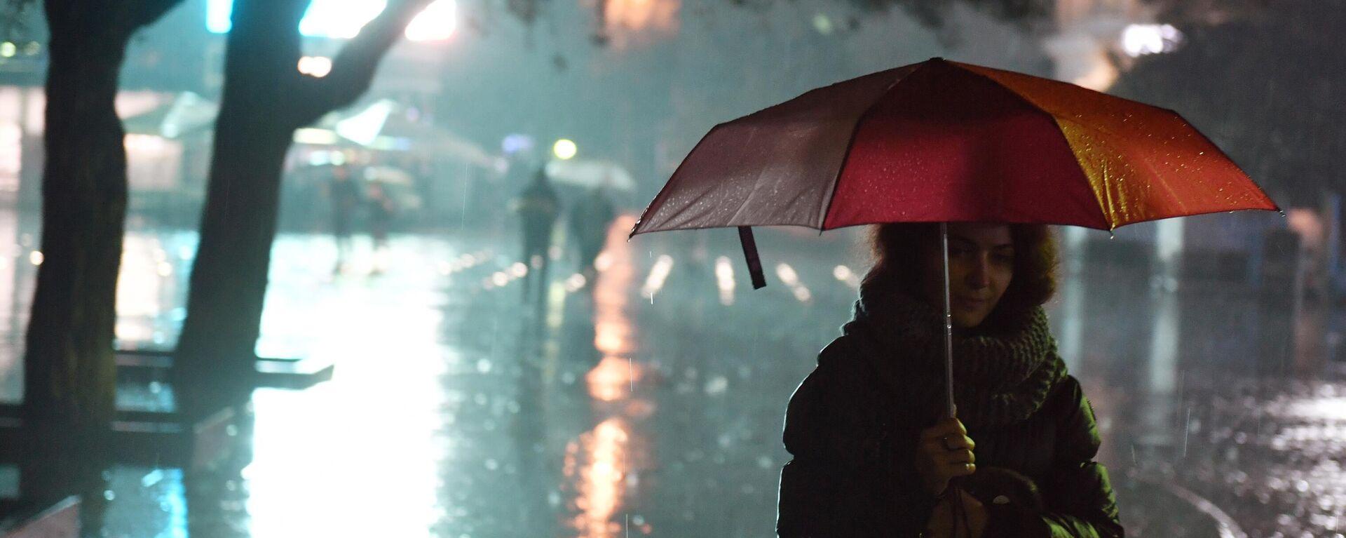 Starker Regen (Symbolbild) - SNA, 1920, 18.09.2021
