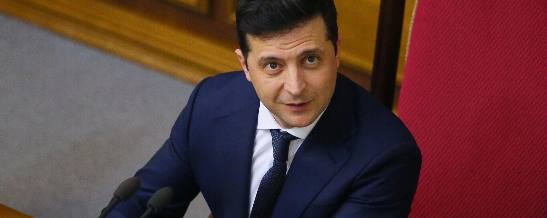 Der ukrainische Präsident Wladimir Selenski (Archivbild) - SNA, 1920, 03.02.2021