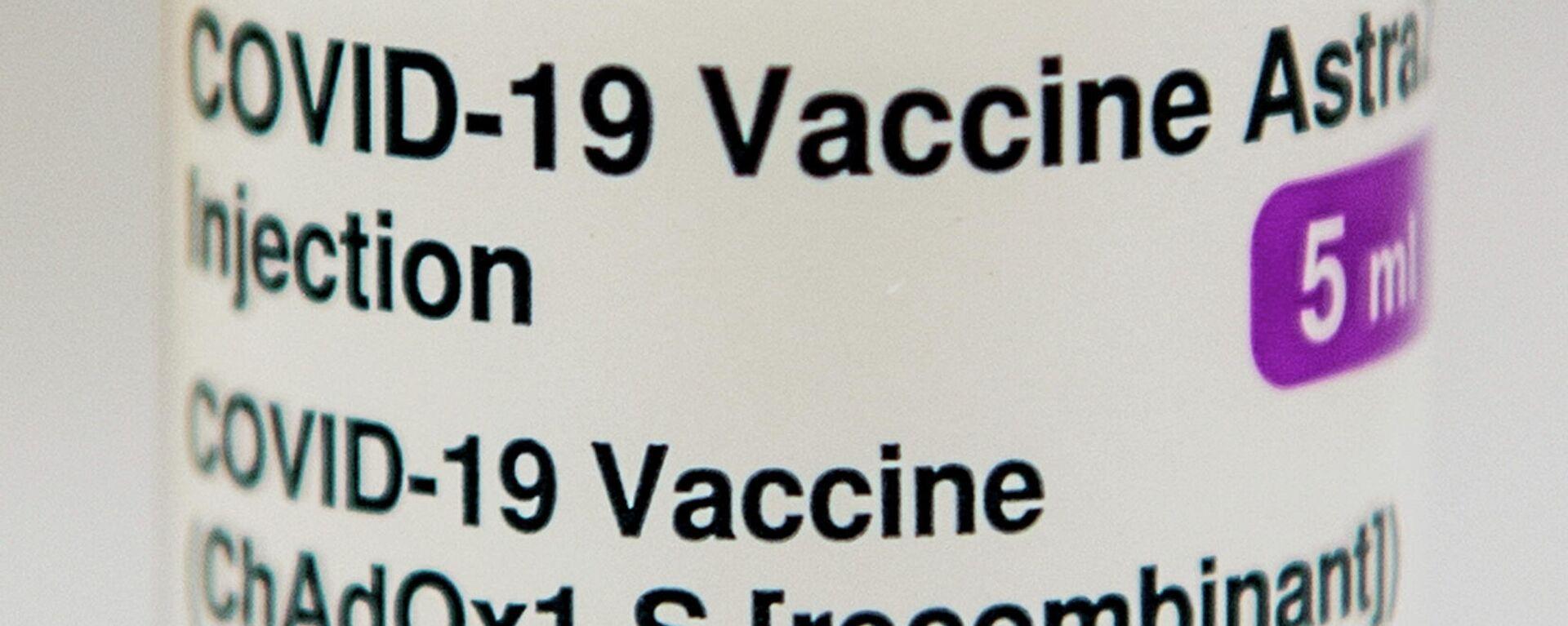 Impfdose von AstaZeneca - SNA, 1920, 15.02.2021
