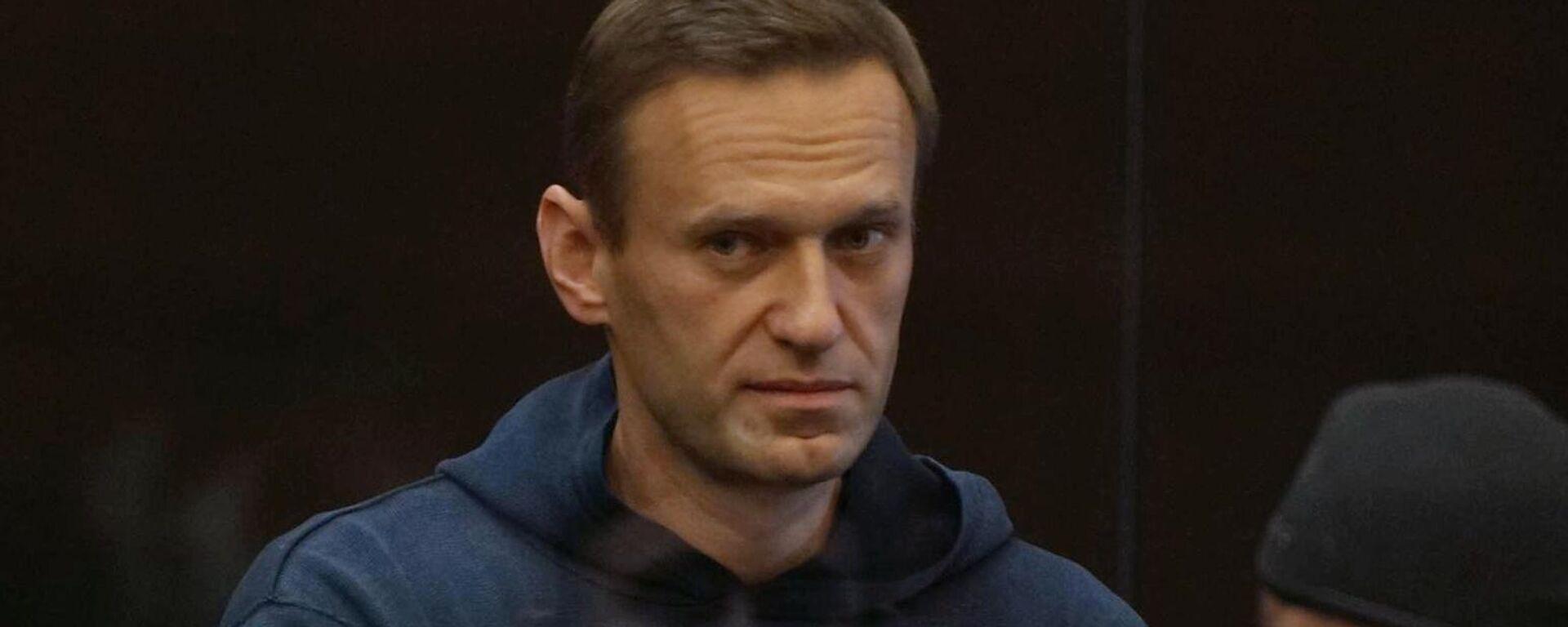 Alexej Nawalny vor der Verkündung des Urteils - SNA, 1920, 03.02.2021