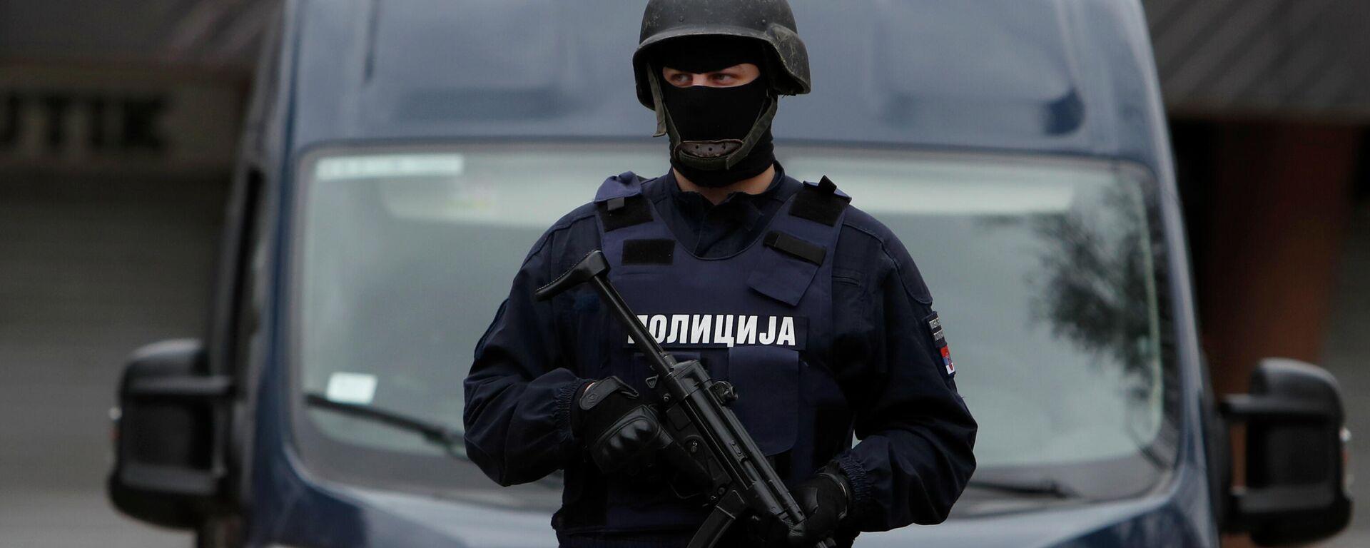 Polizei in Serbien - SNA, 1920, 27.09.2021