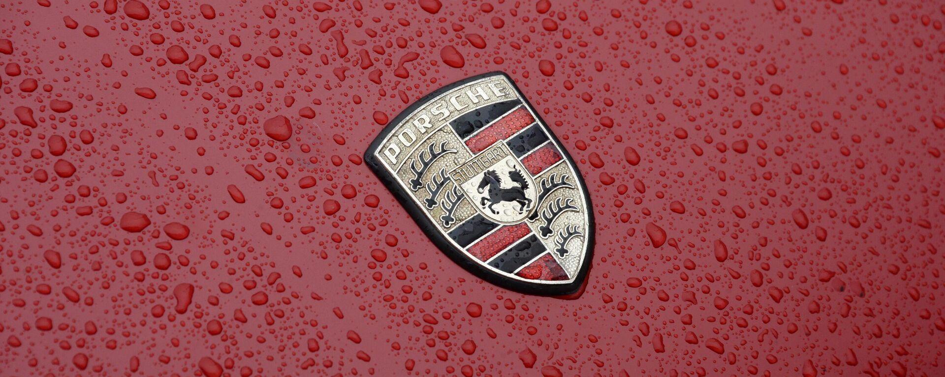 Logo des deutschen Autobauers Porsche - SNA, 1920, 08.02.2021