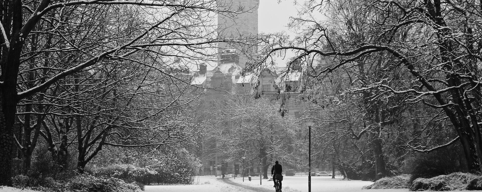 Winter in Leipzig (Archiv) - SNA, 1920, 09.02.2021