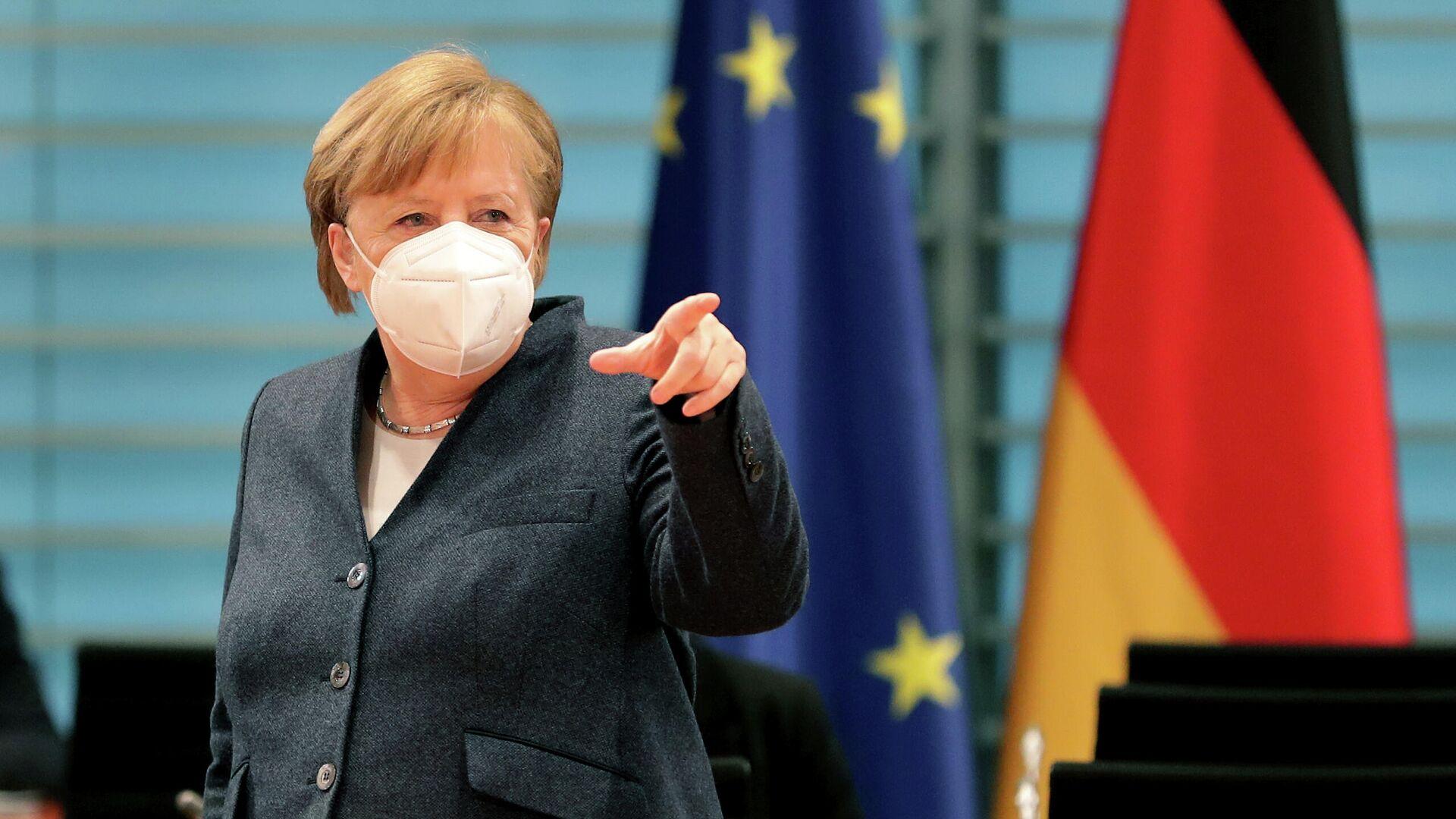 Bundeskanzlerin Angela Merkel (Archiv) - SNA, 1920, 23.09.2021