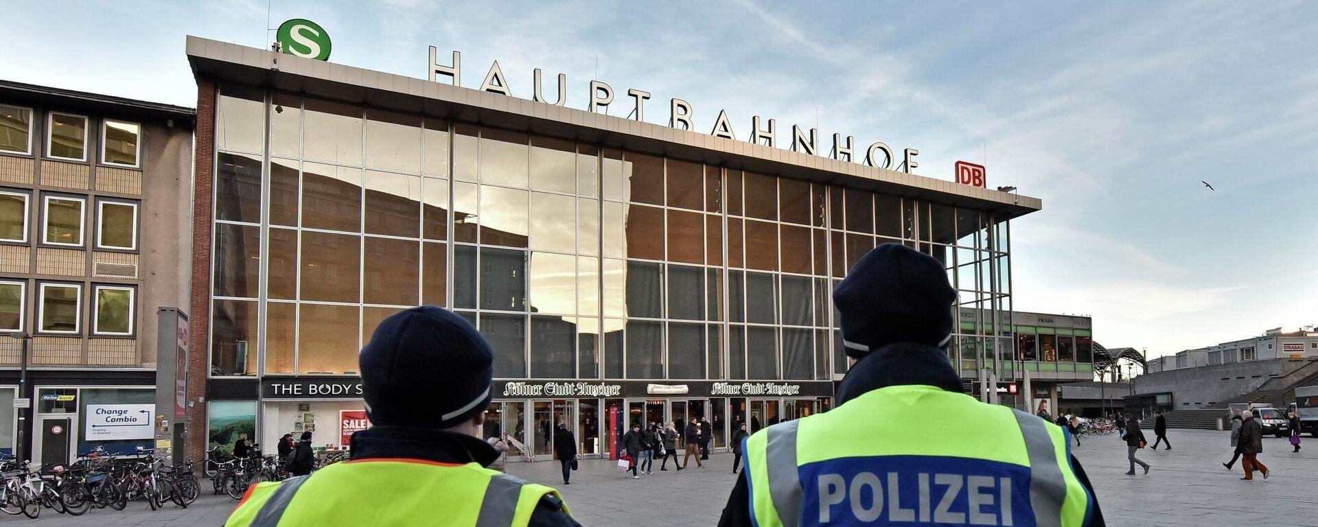 Der Kölner Hauptbahnhof (Archivfoto) - SNA, 1920, 10.02.2021