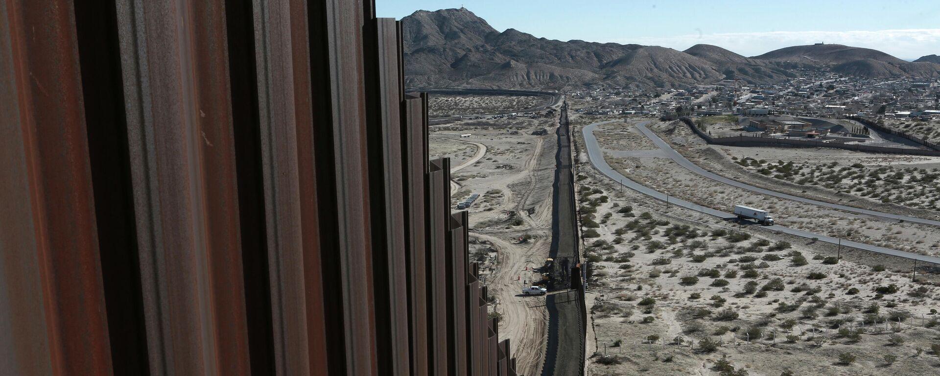 Schutzmauer an der Grenze zwischen den USA und Mexiko (Archiv) - SNA, 1920, 01.05.2021