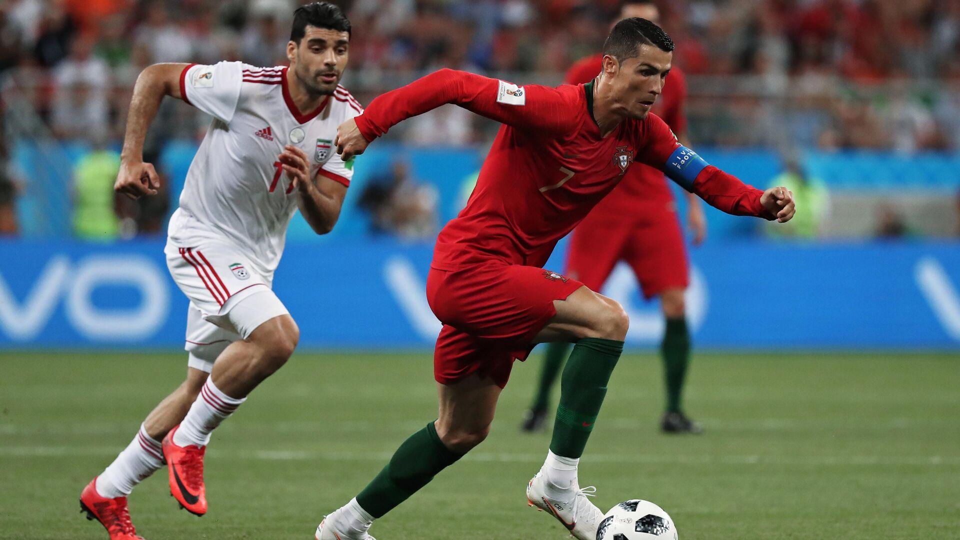 Cristiano Ronaldo 2018 beim WM-Länderspiel gegen den Iran.   - SNA, 1920, 12.02.2021