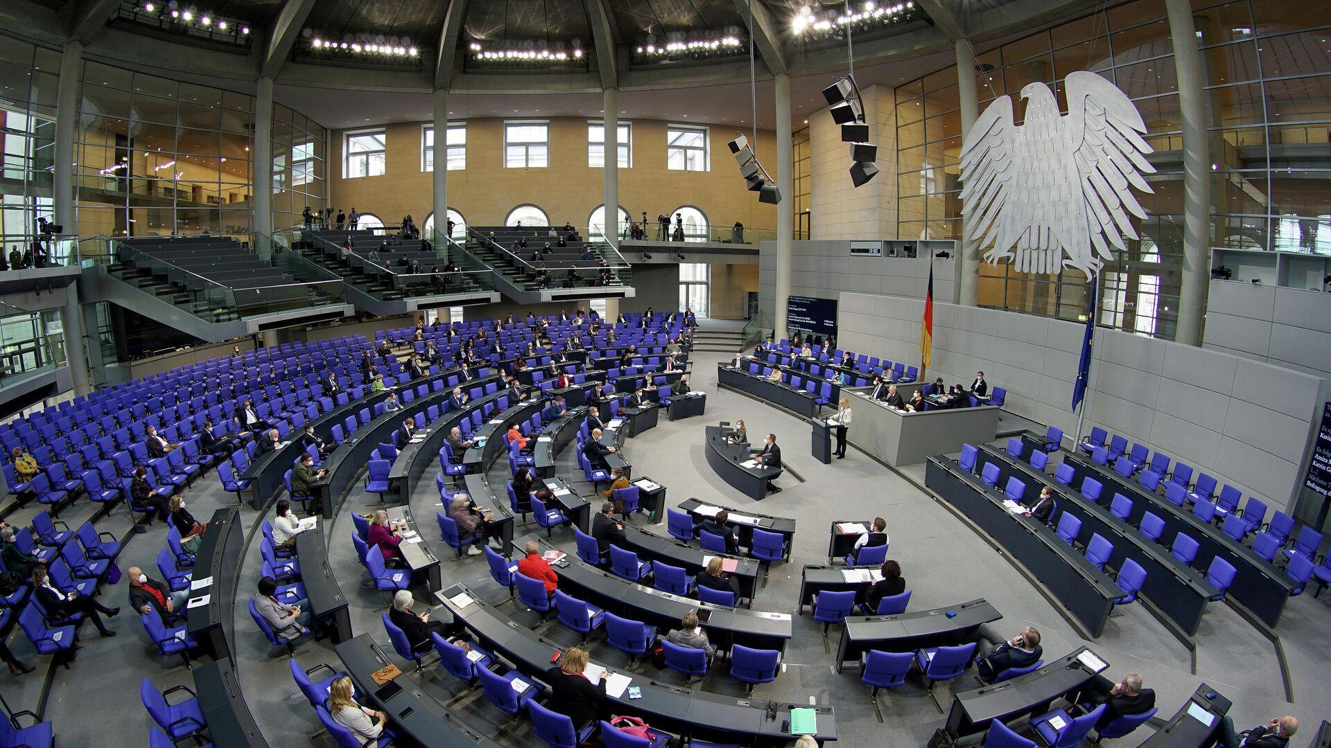 Sitzung des Bundestages (Archivfoto) - SNA, 1920, 09.10.2021