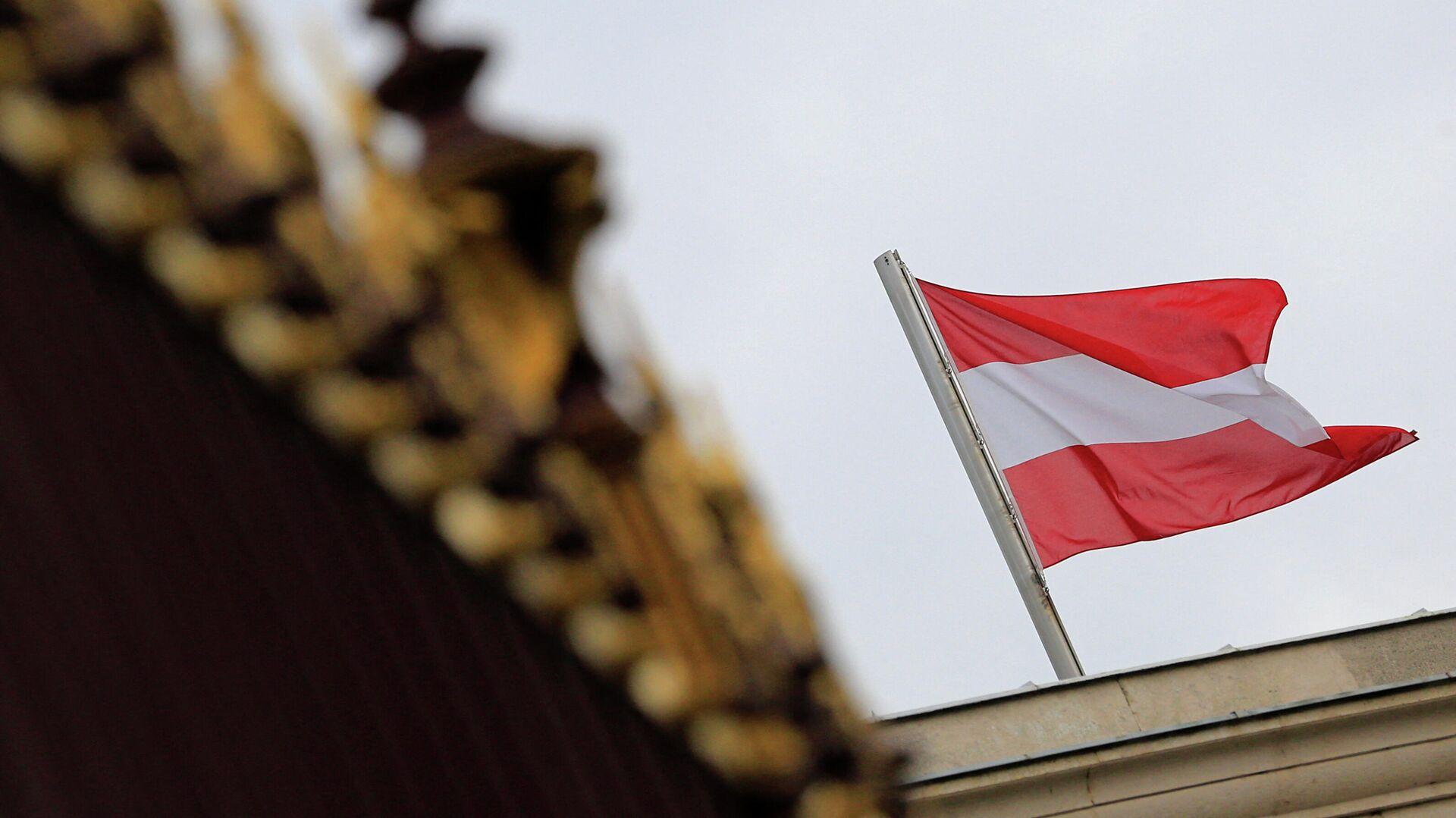 Die österreichische Nationalflagge in Wien - SNA, 1920, 14.02.2021