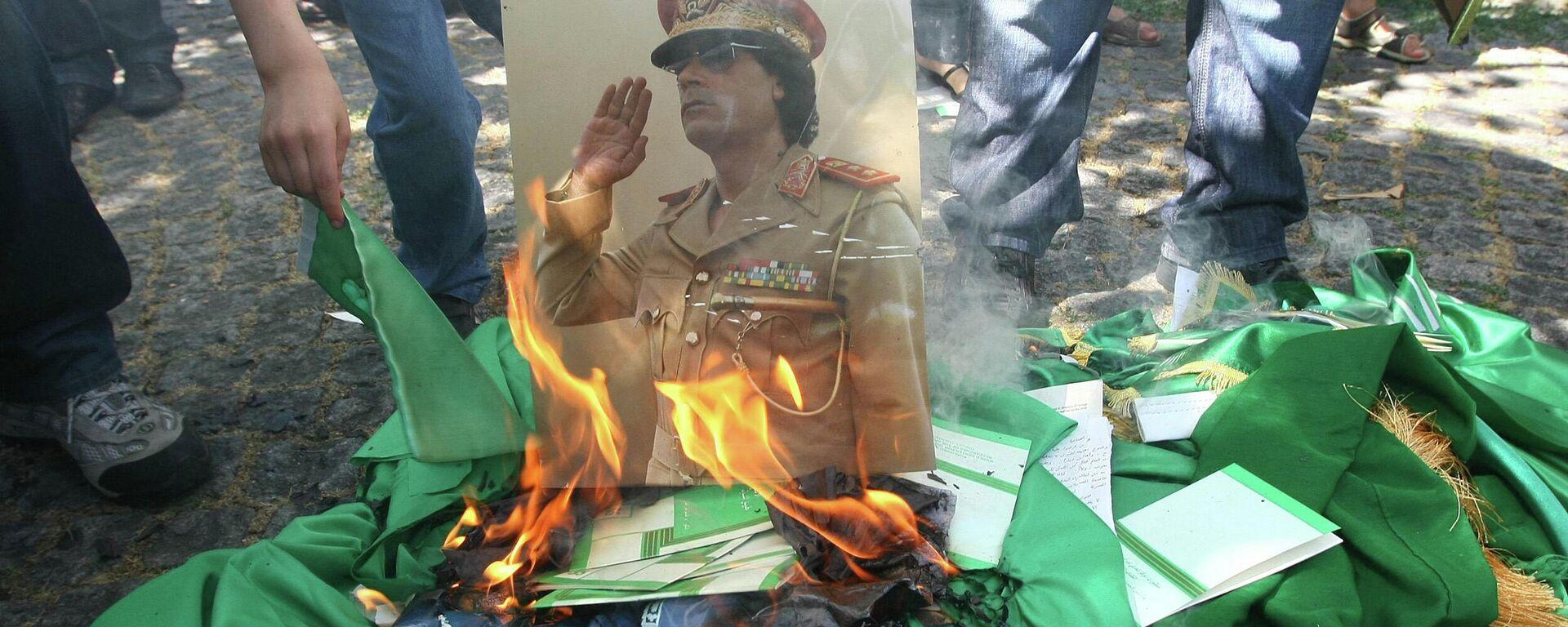 Proteste in Libyen 2011 (Archivbild) - SNA, 1920, 15.02.2021
