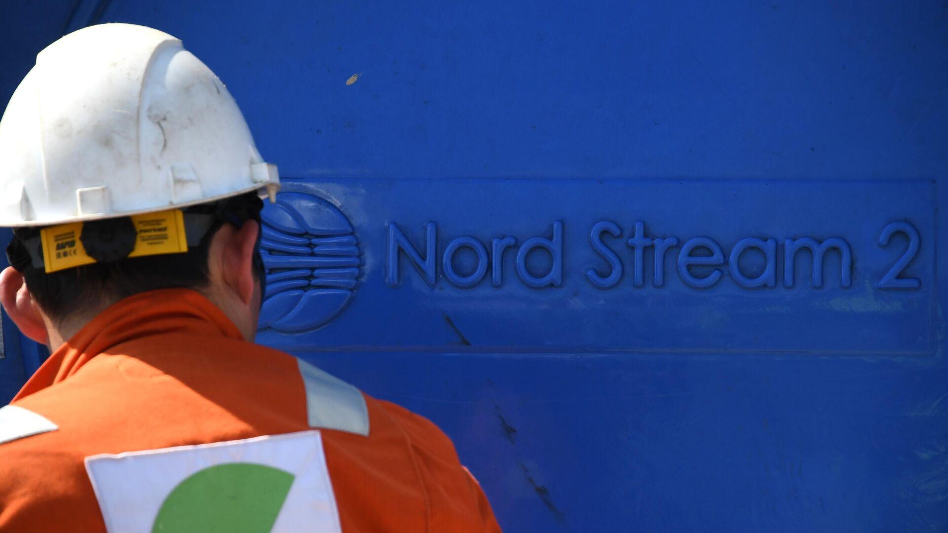 Bauarbeiten an der Ostsee-Pipeline Nord Stream 2 (Archivbild) - SNA, 1920, 19.03.2021