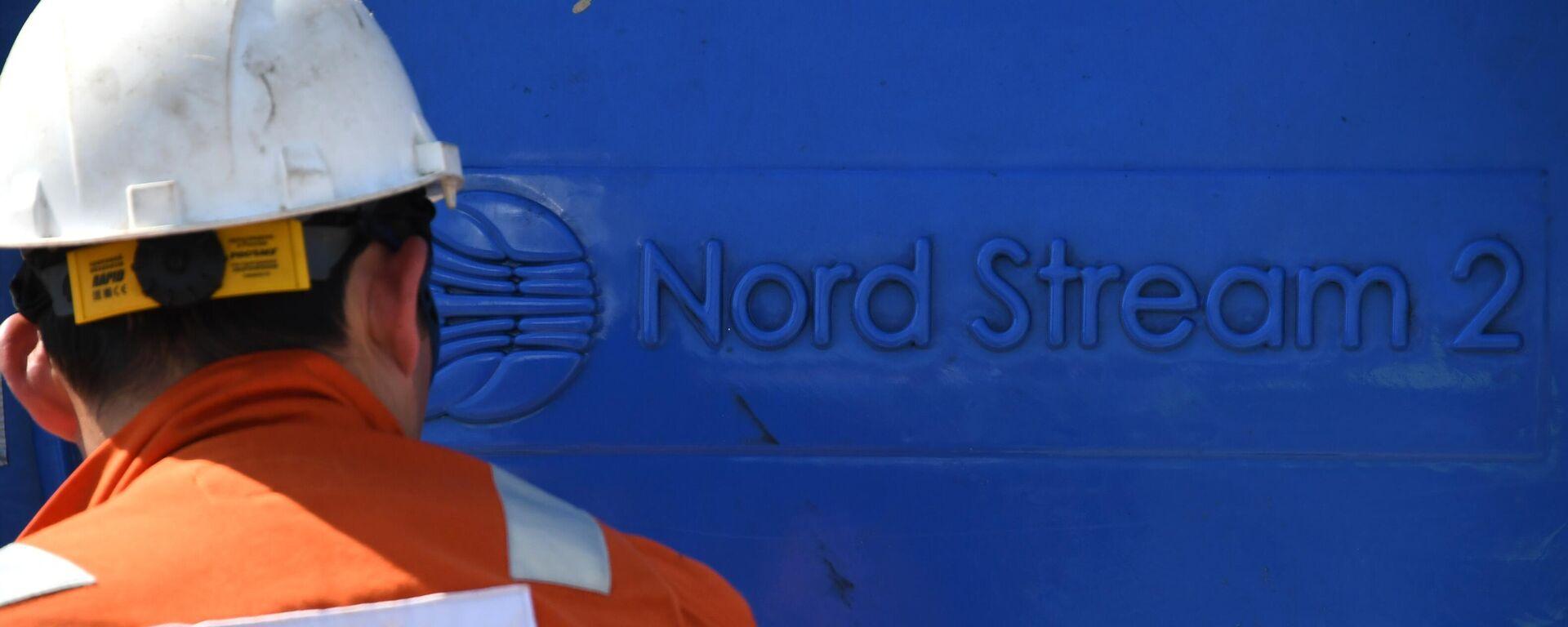 Bauarbeiten an der Ostsee-Pipeline Nord Stream 2 (Archivbild) - SNA, 1920, 22.09.2021