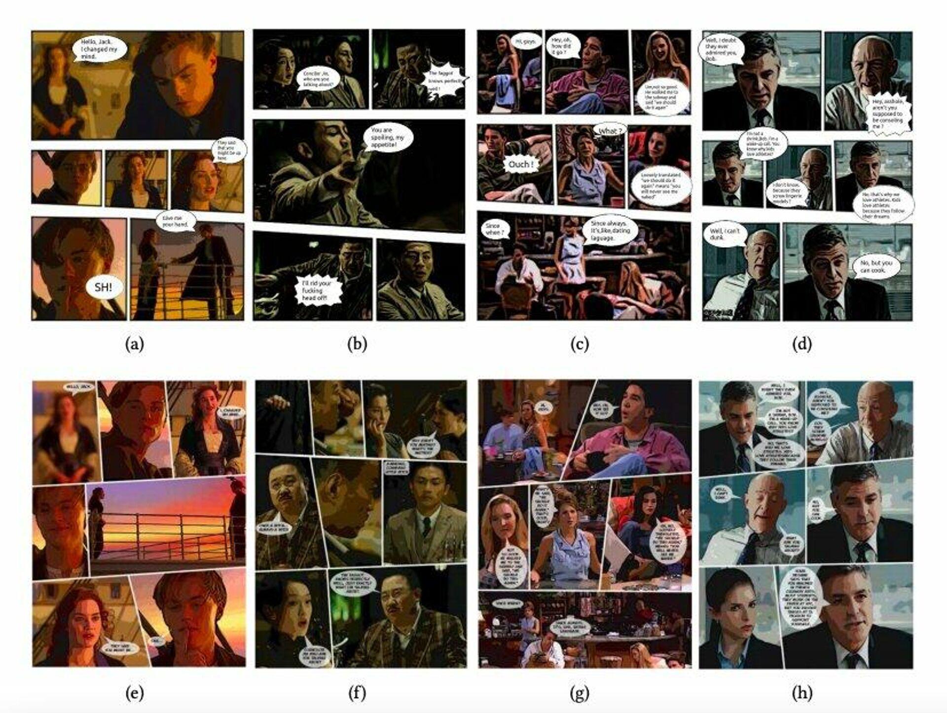 Beispiele mit Hollywood-Filmen - SNA, 1920, 19.02.2021