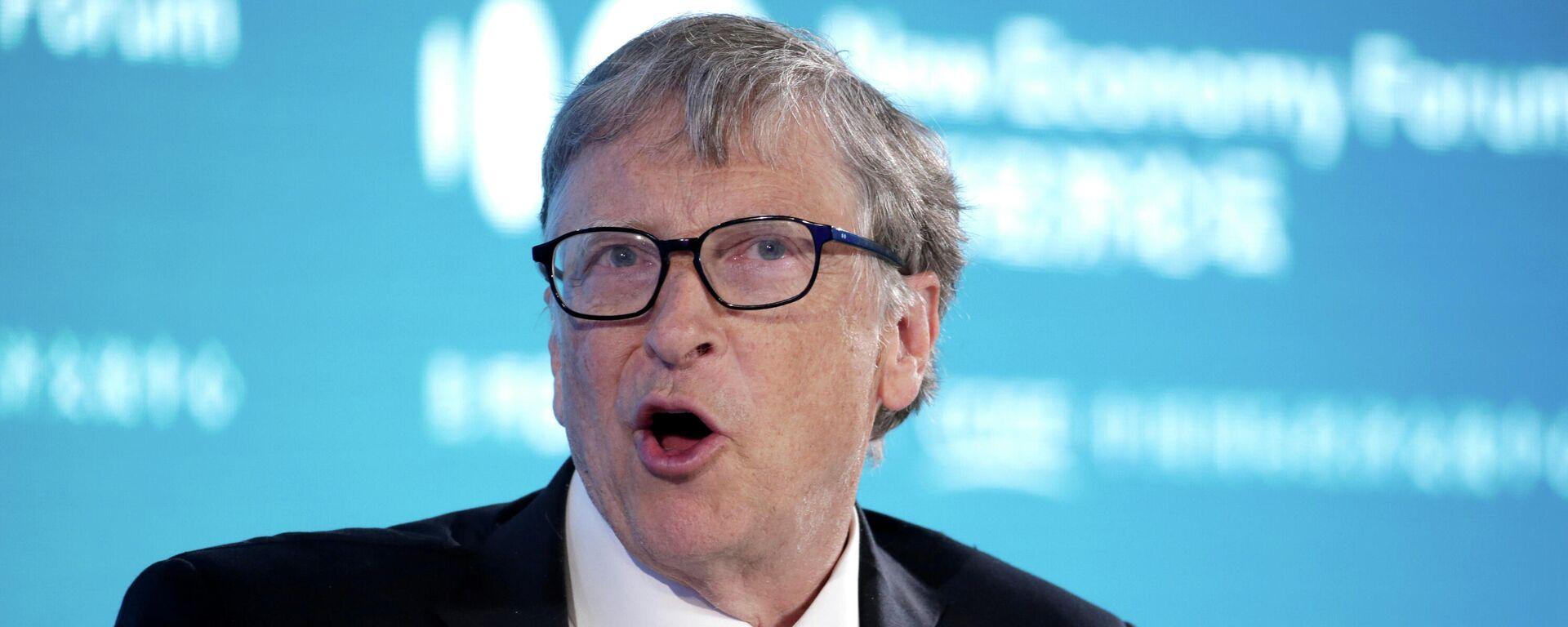 Microsoft-Mitgründer Bill Gates (Archiv) - SNA, 1920, 19.02.2021