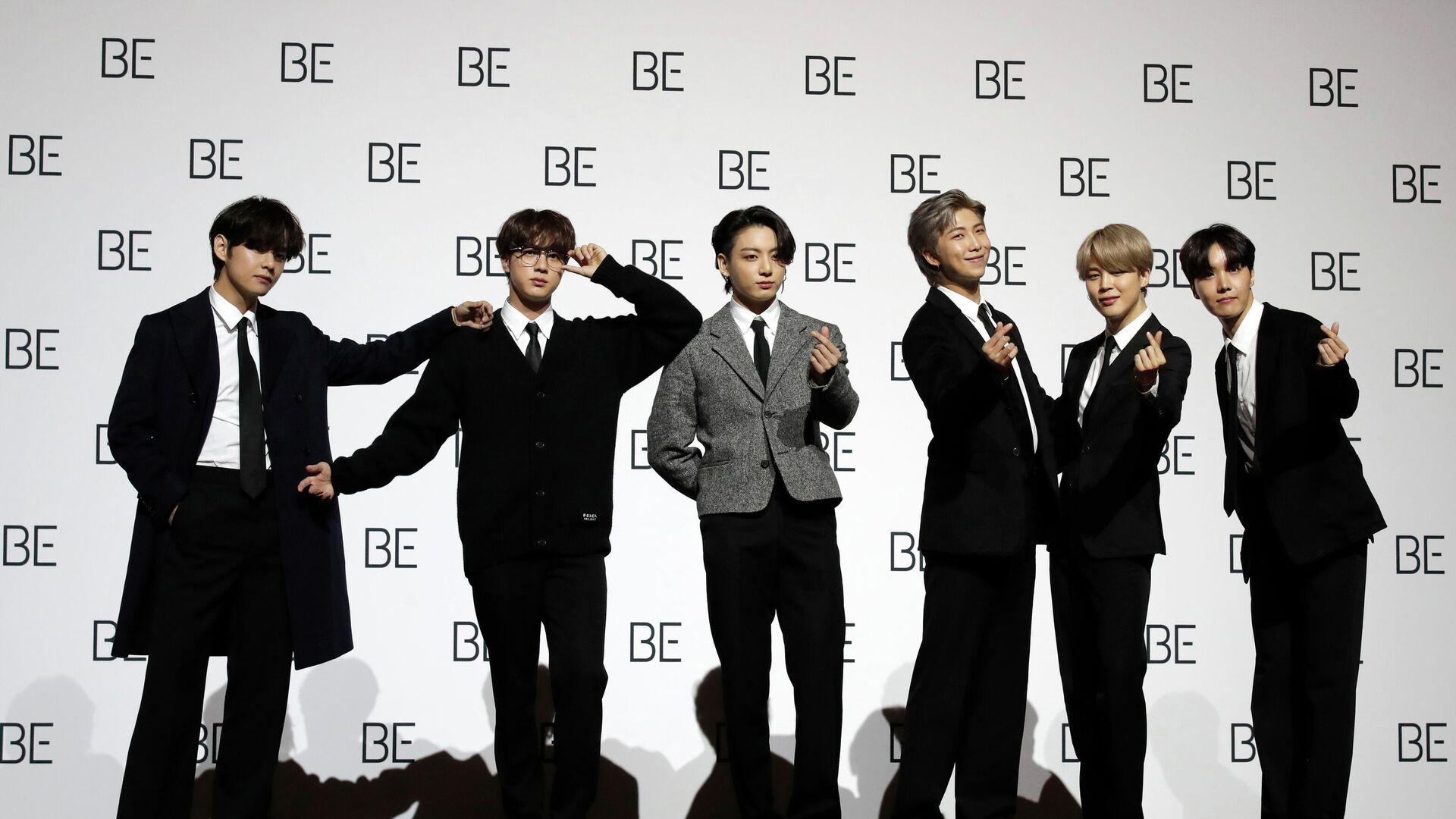 Südkoreanische K-Pop-Band BTS  - SNA, 1920, 20.09.2021