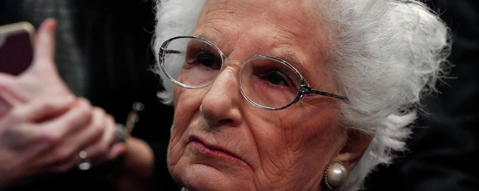 Die italienische Senatorin auf Lebenszeit und Auschwitz-Überlebende Liliana Segre  - SNA, 1920, 20.02.2021