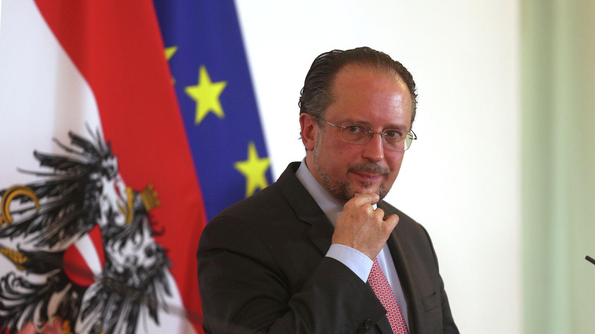 Österreichs Außenminister Alexander Schallenberg (Archiv) - SNA, 1920, 10.10.2021