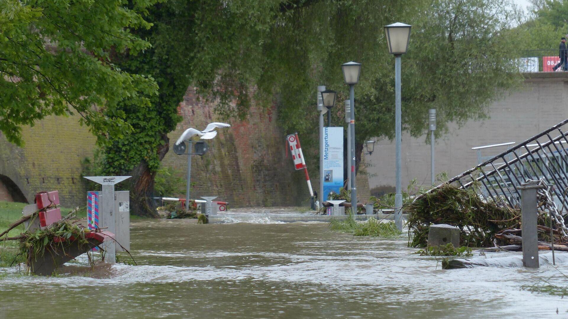 Überschwemmung (Symbolbild) - SNA, 1920, 14.07.2021
