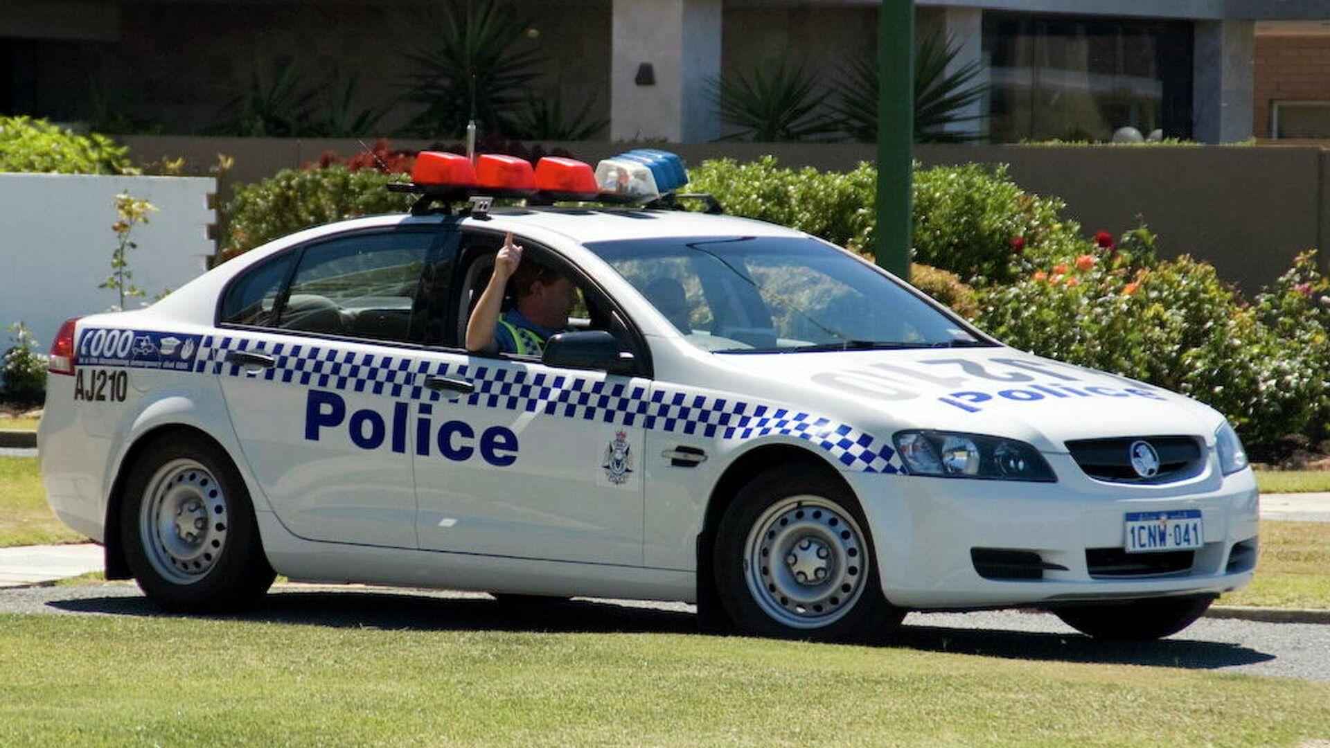 Polizei in Australien (Archiv) - SNA, 1920, 06.09.2021