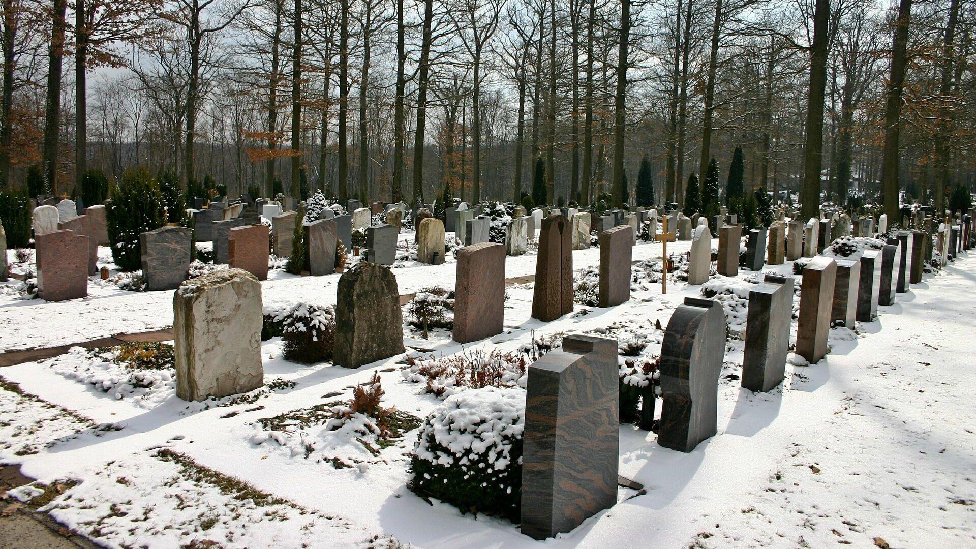 Friedhof (Symbolbild) - SNA, 1920, 24.02.2021