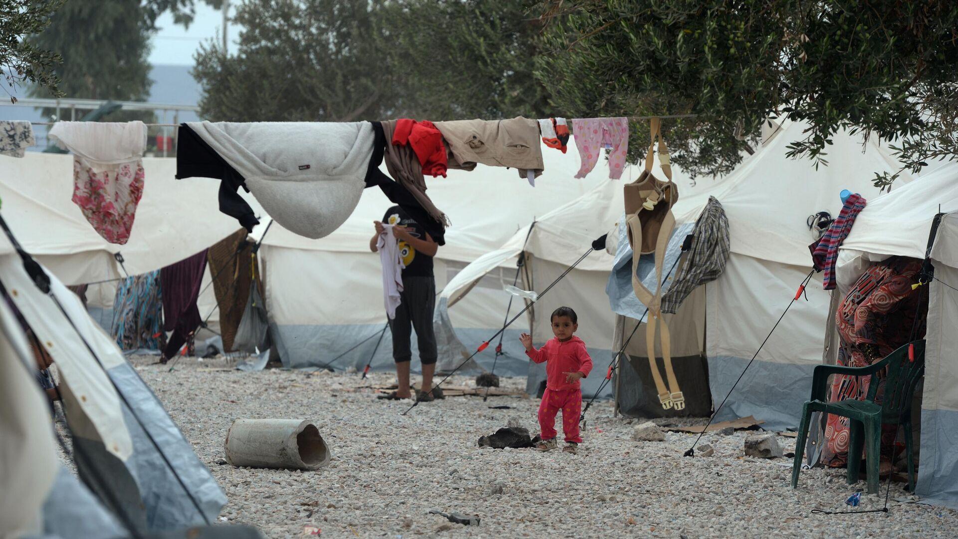 Flüchtlingslager auf Lesbos  - SNA, 1920, 26.02.2021
