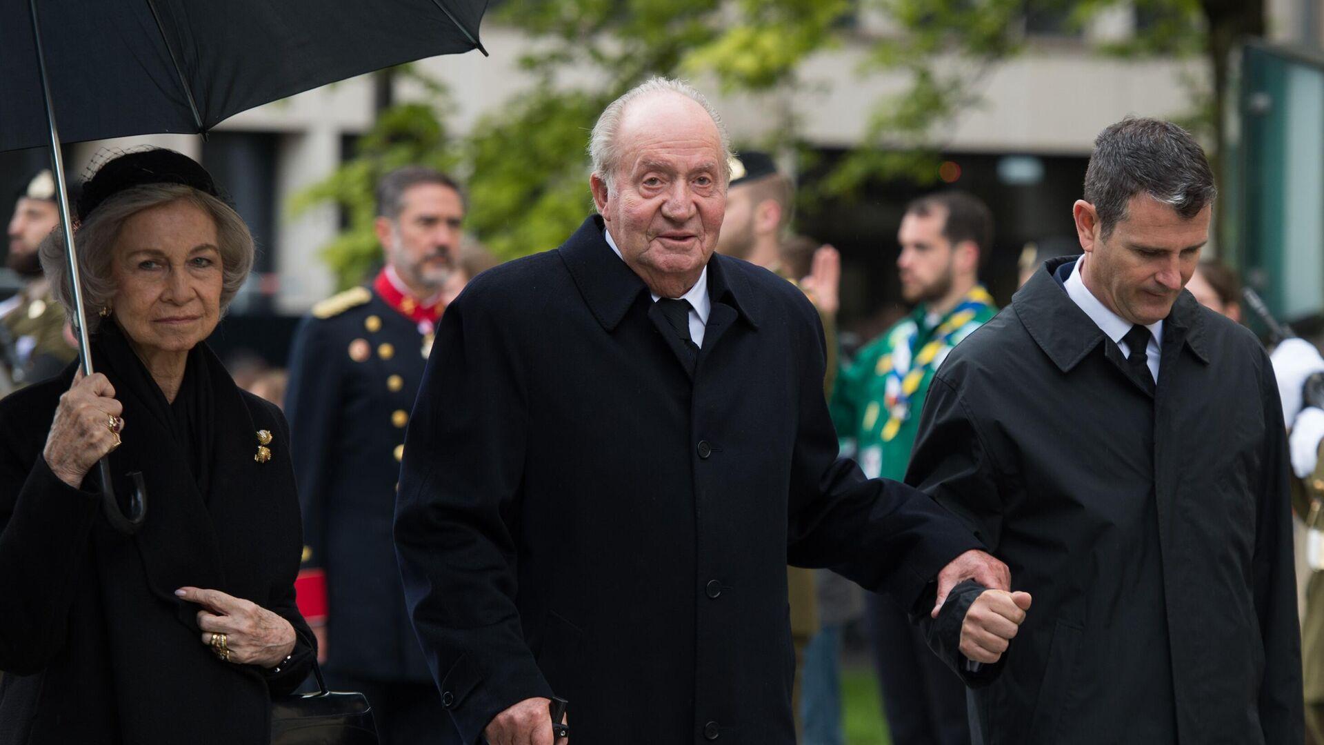 Spaniens ehemaliger König Juan Carlos  - SNA, 1920, 26.02.2021