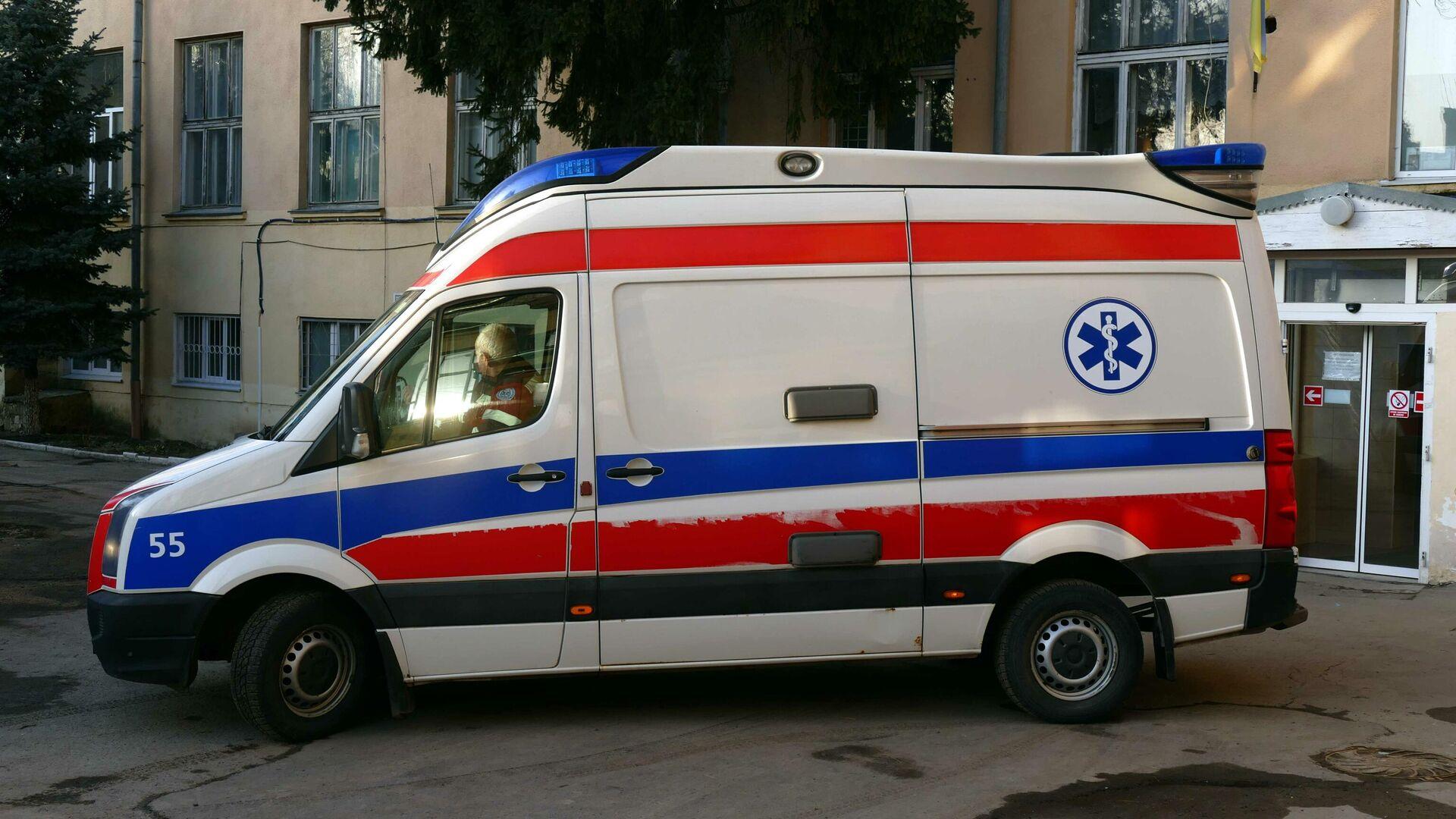 Ein Krankenwagen in Iwano-Frankiwsk, Ukraine - SNA, 1920, 27.02.2021