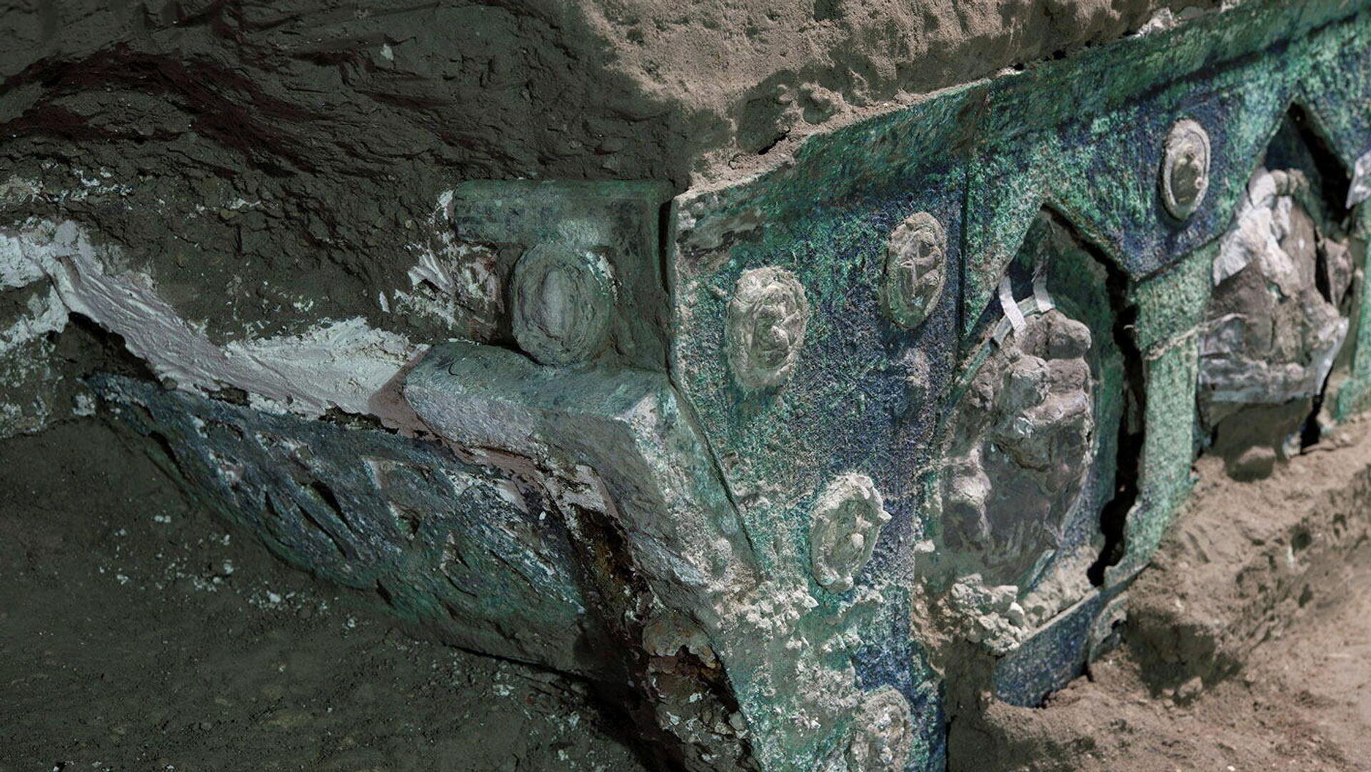 Triumphwagen mit erotischen Motiven in Pompeji - SNA, 1920, 27.02.2021