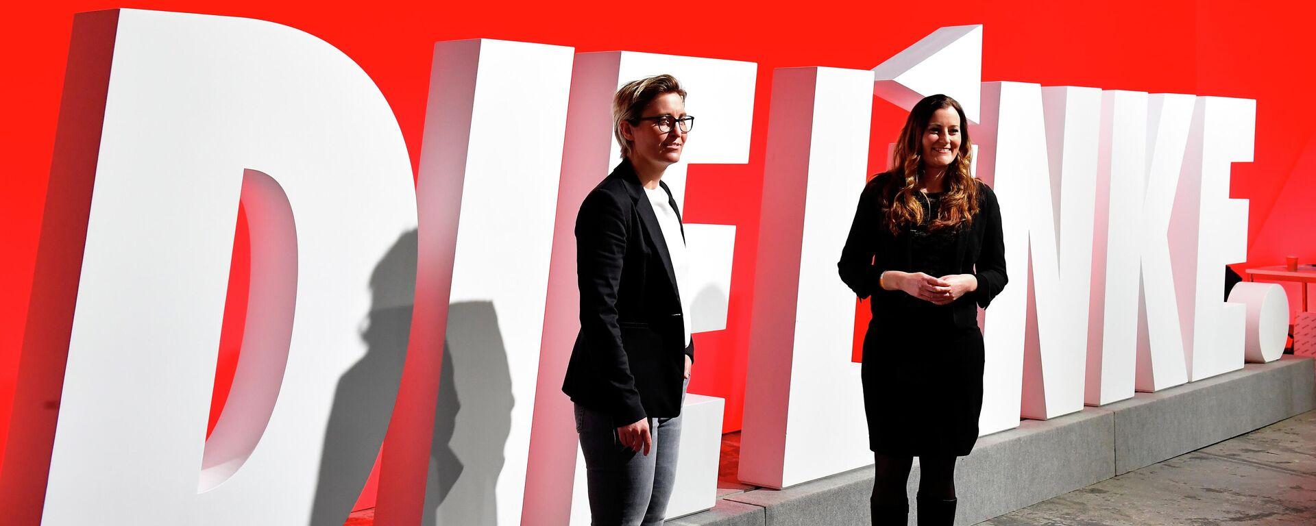 Das neue Führungsduo der Linken – die thüringische Landeschefin Susanne Hennig-Wellsow (links) und die hessische Landtagsfraktionschefin Janine Wissler. - SNA, 1920, 28.02.2021