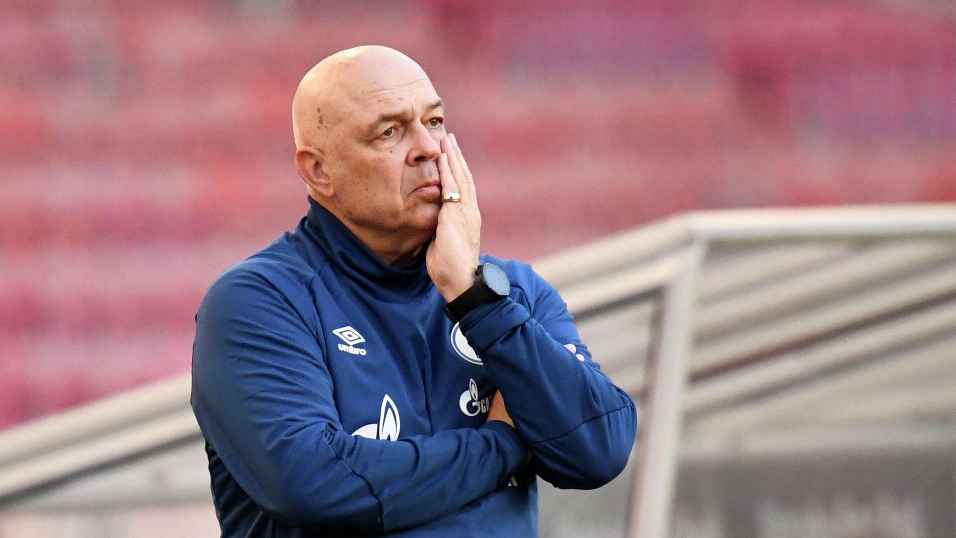 Trainer des FC Schalke 04 Christian Gross (Stuttgart, 27.02.2021) - SNA, 1920, 28.02.2021