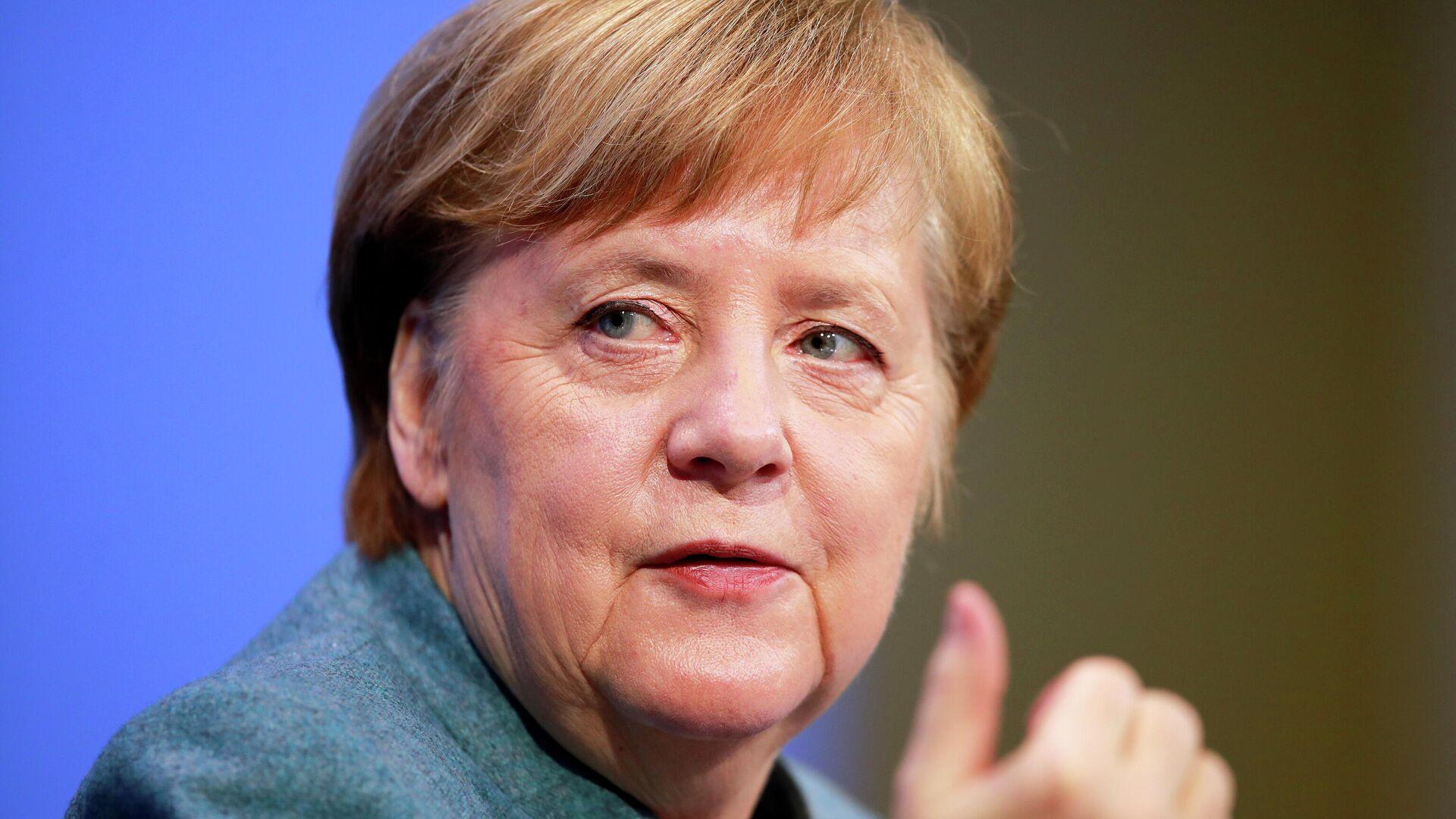 Bundeskanzlerin Angela Merkel  - SNA, 1920, 28.02.2021