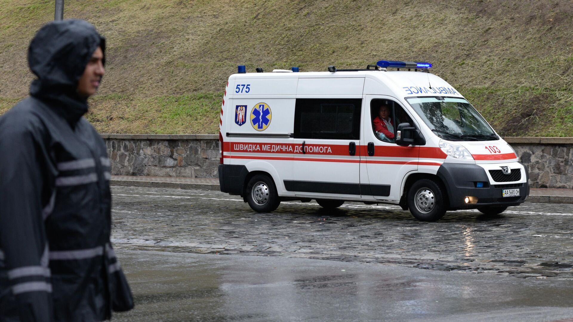 Rettungswagen in der Ukraine (Symbolbild) - SNA, 1920, 28.02.2021