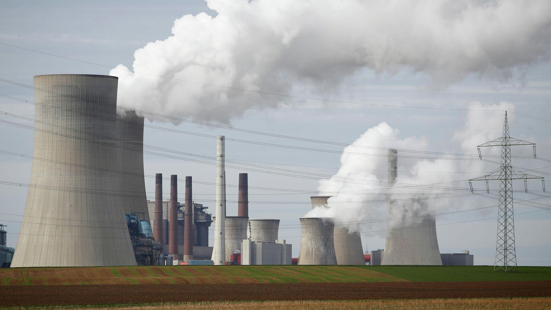 RWE-Kraftwerk in Neurath, Nordrhein-Westfalen  - SNA, 1920, 28.02.2021