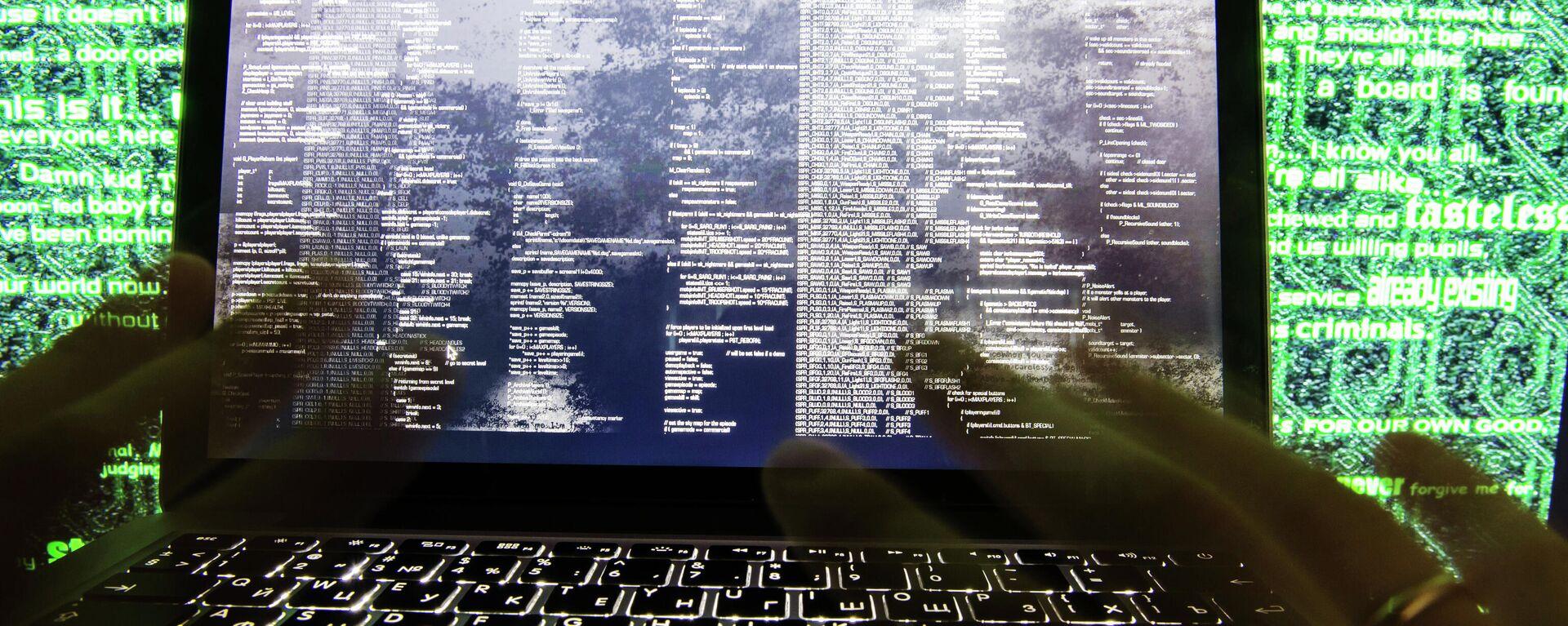Hackerangriff (Symbolbild) - SNA, 1920, 30.06.2021