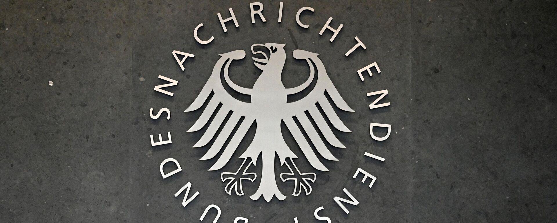 Symbol des Bundesnachrichtendienstes - SNA, 1920, 02.03.2021