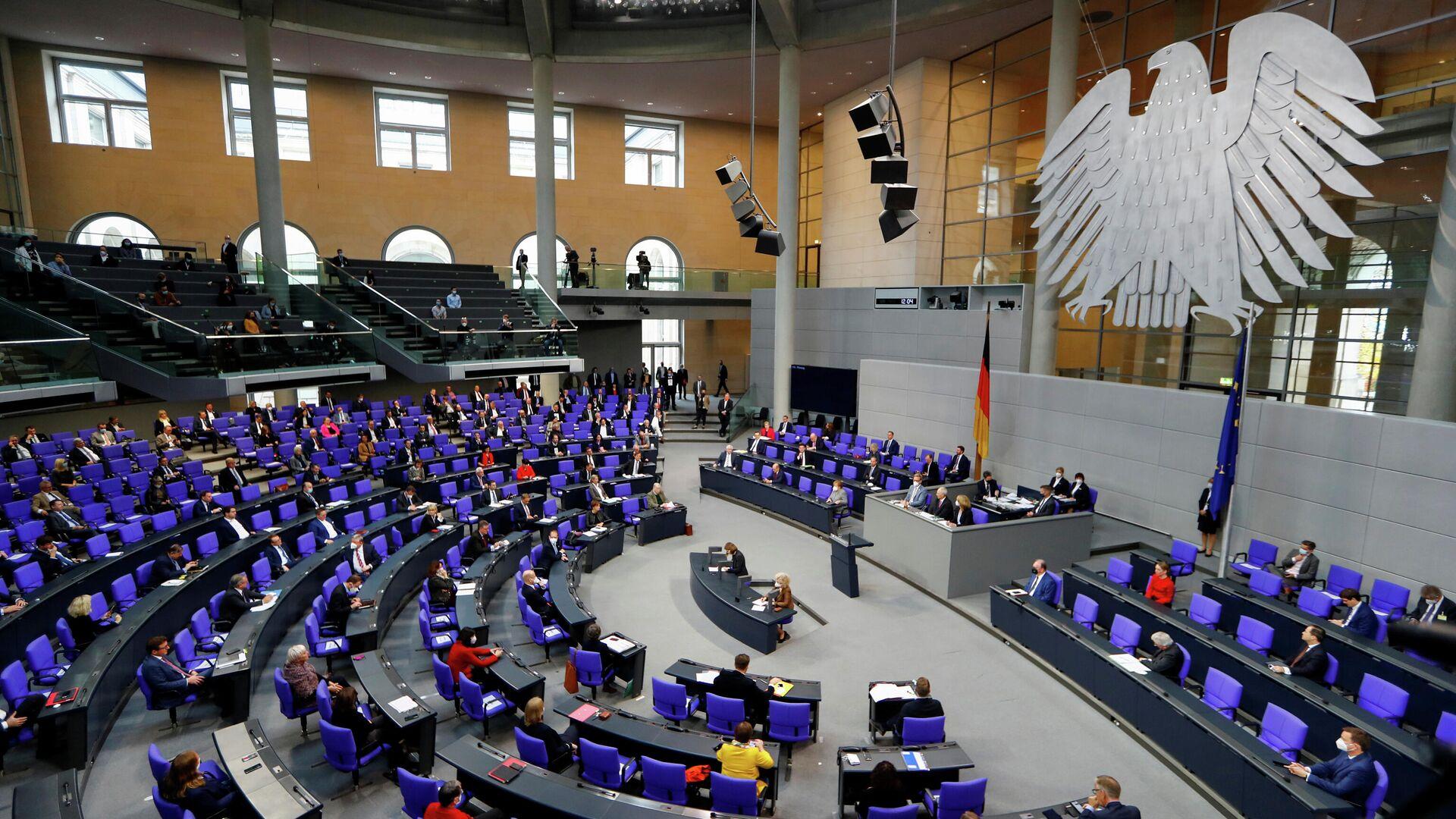 Sitzung des deutschen Bundestags (Archivbild) - SNA, 1920, 05.03.2021
