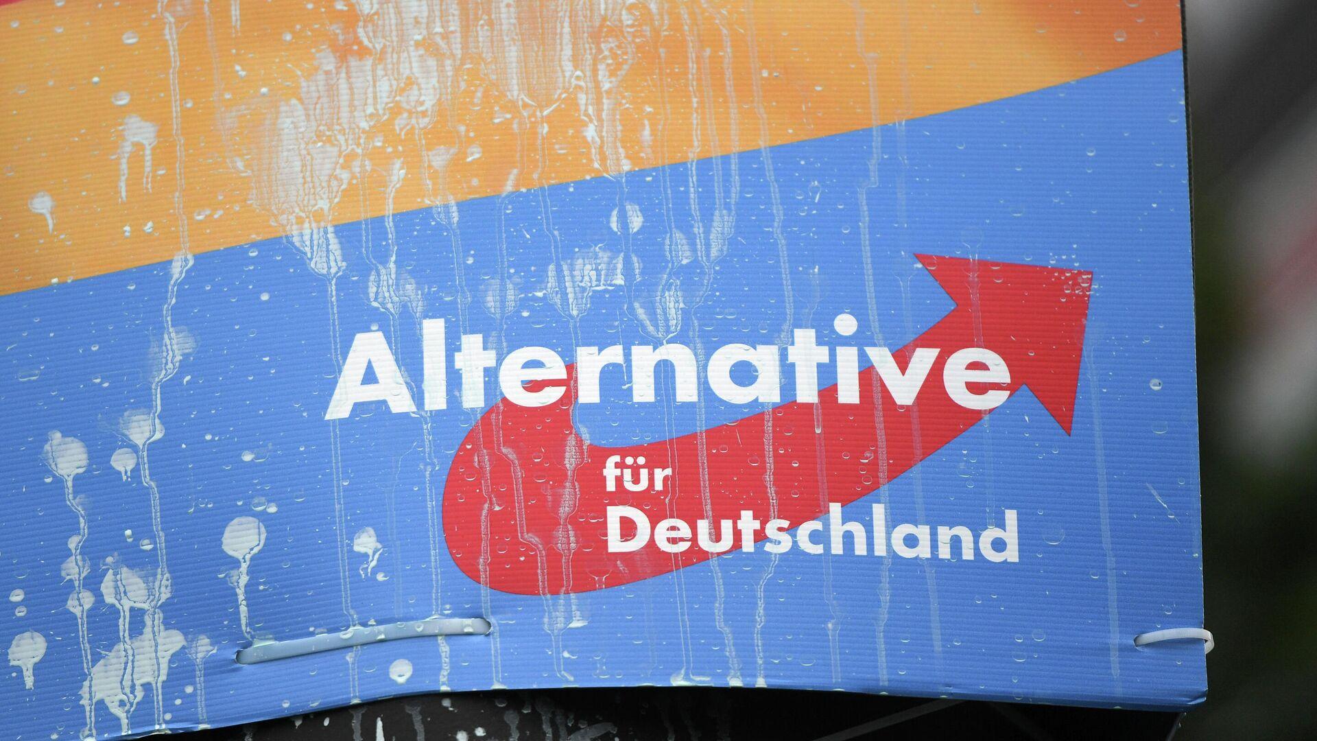 AfD-Wahlplakat (Archivbild) - SNA, 1920, 19.09.2021