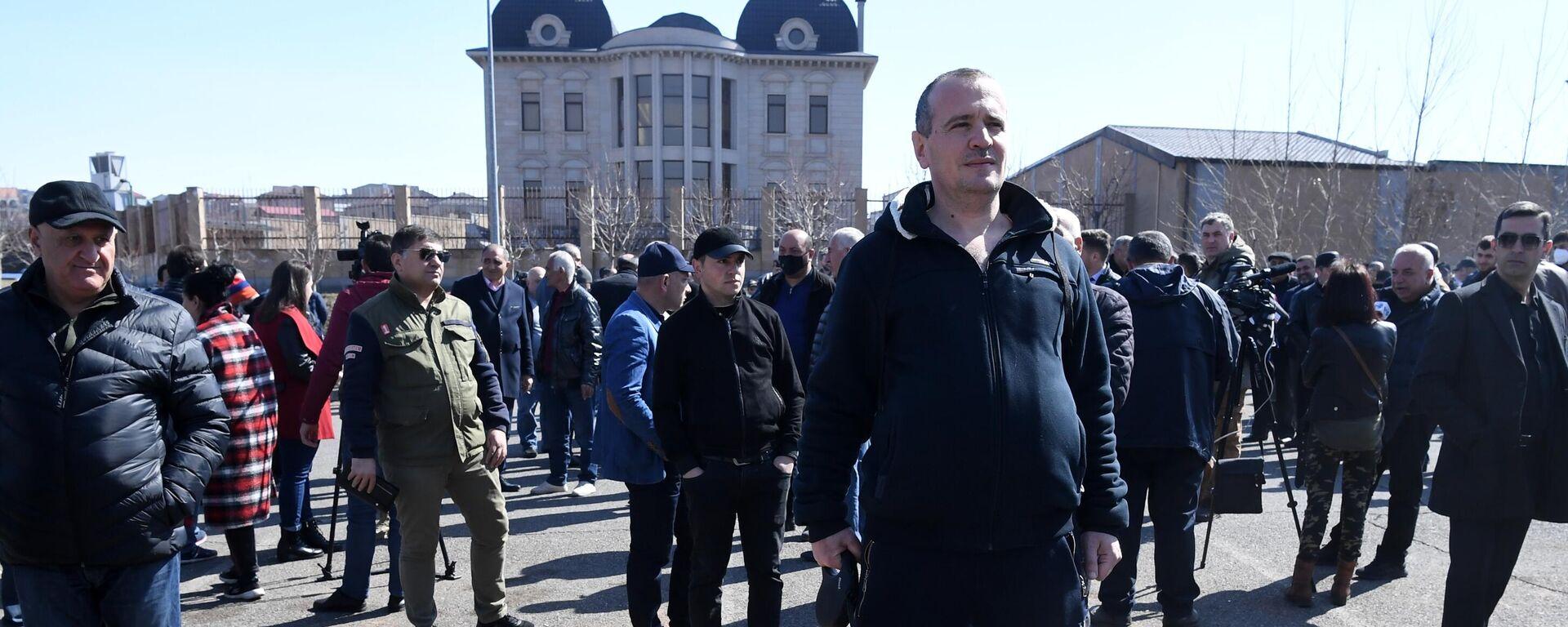 Proteste gegen Premierminister Paschinjan in Jerewan (06.03.2021) - SNA, 1920, 06.03.2021
