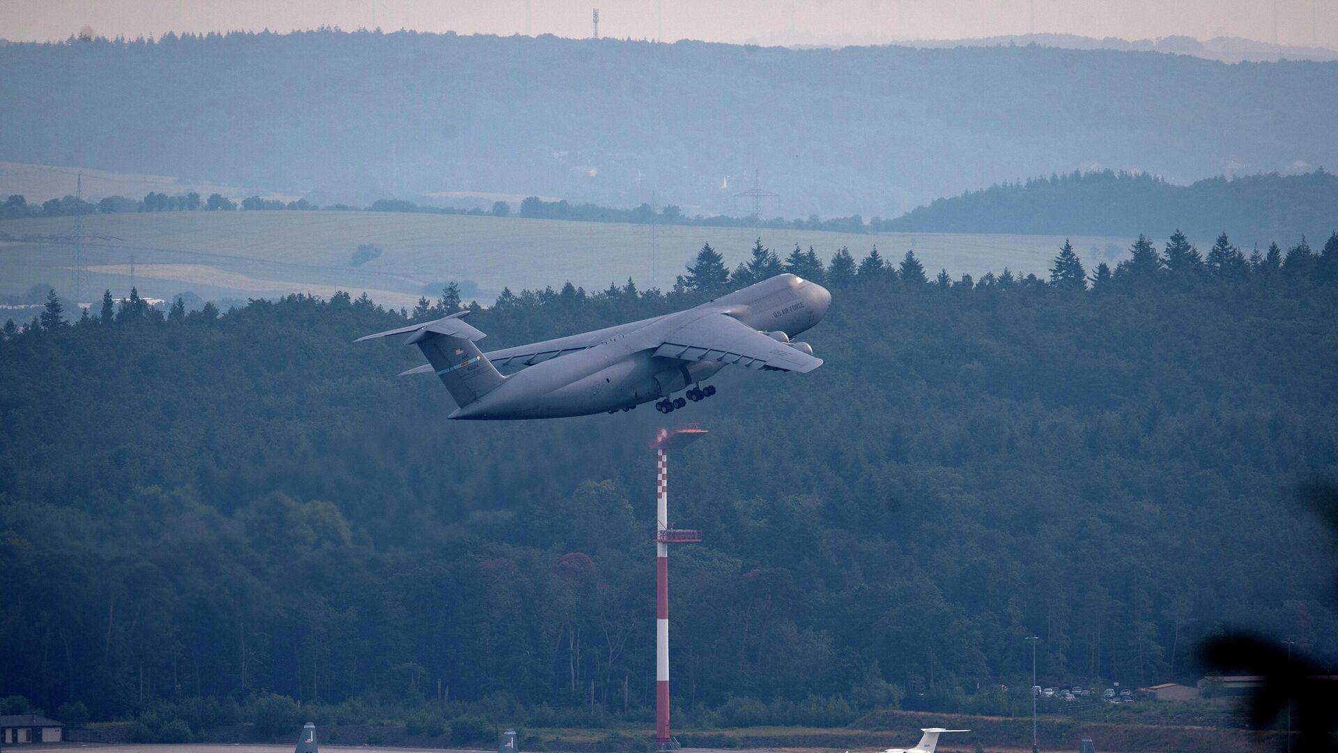 Die Ramstein Air Base, ein Militärflugplatz der US-Luftwaffe in Deutschland  - SNA, 1920, 13.05.2021
