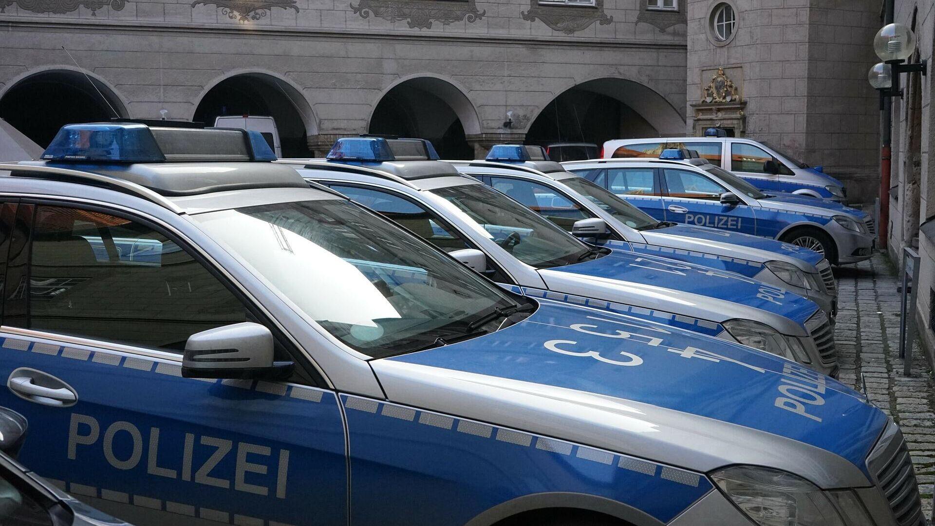 Polizeiautos in Deutschland (Symbolbild) - SNA, 1920, 13.10.2021