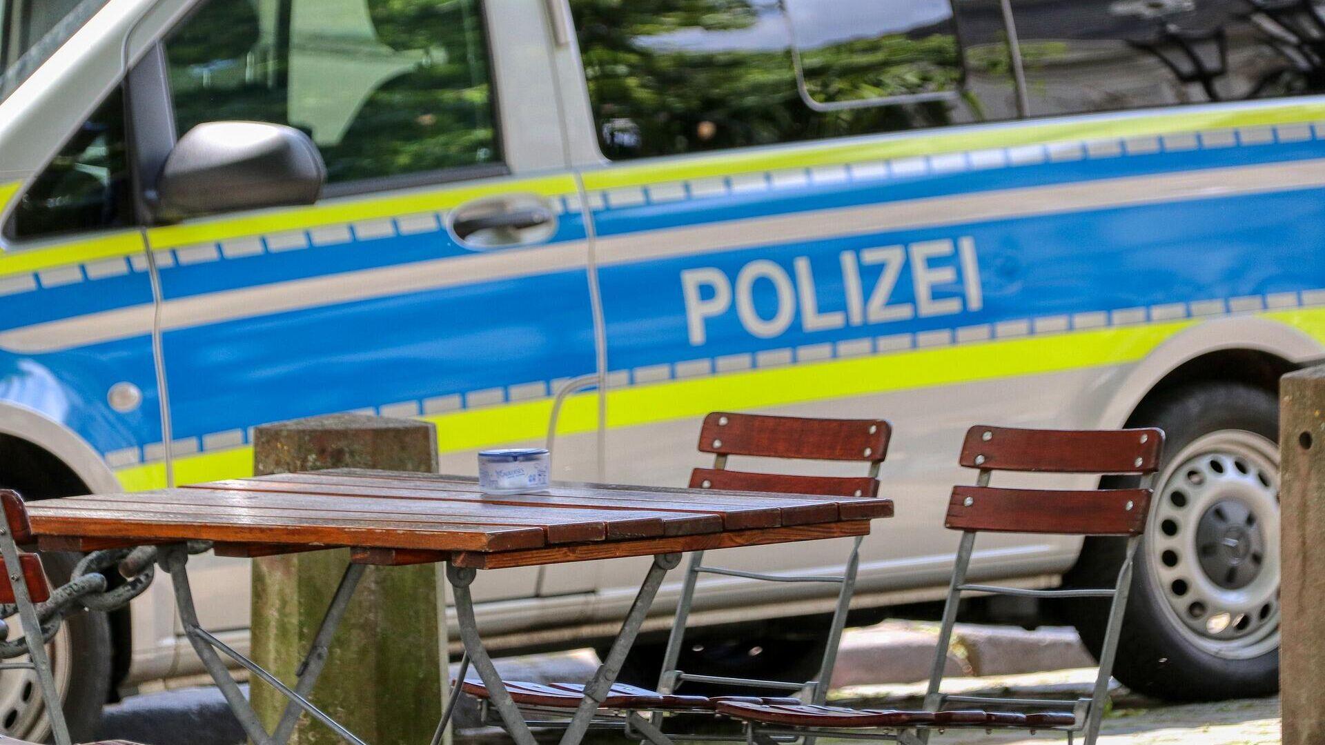 Einsatz der deutschen Polizei (Symbolbild) - SNA, 1920, 18.07.2021
