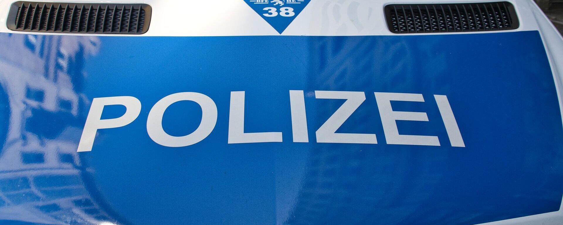 Deutsche Polizei (Symbolbild) - SNA, 1920, 23.03.2021