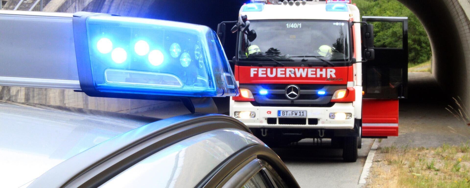Deutsche Feuerwehr (Symbolbild) - SNA, 1920, 11.10.2021