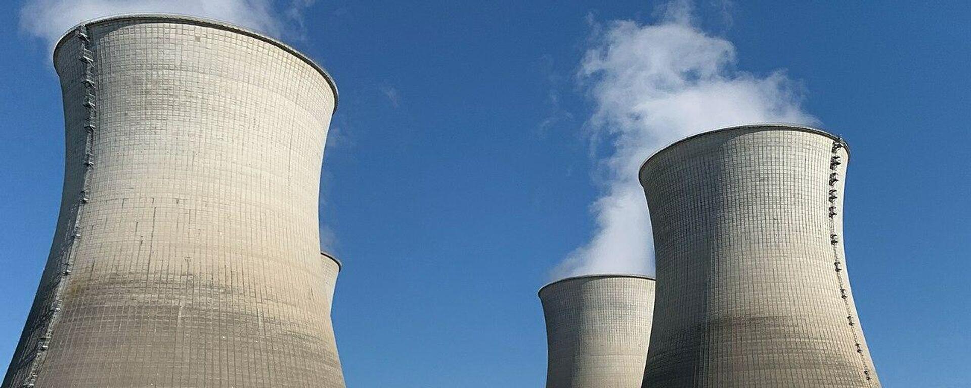 Atomkraftwerk (Archivbild) - SNA, 1920, 27.03.2021