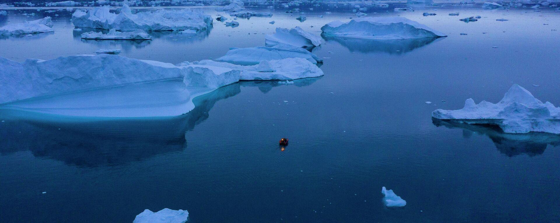 Eisberge in Grönland - SNA, 1920, 16.07.2021