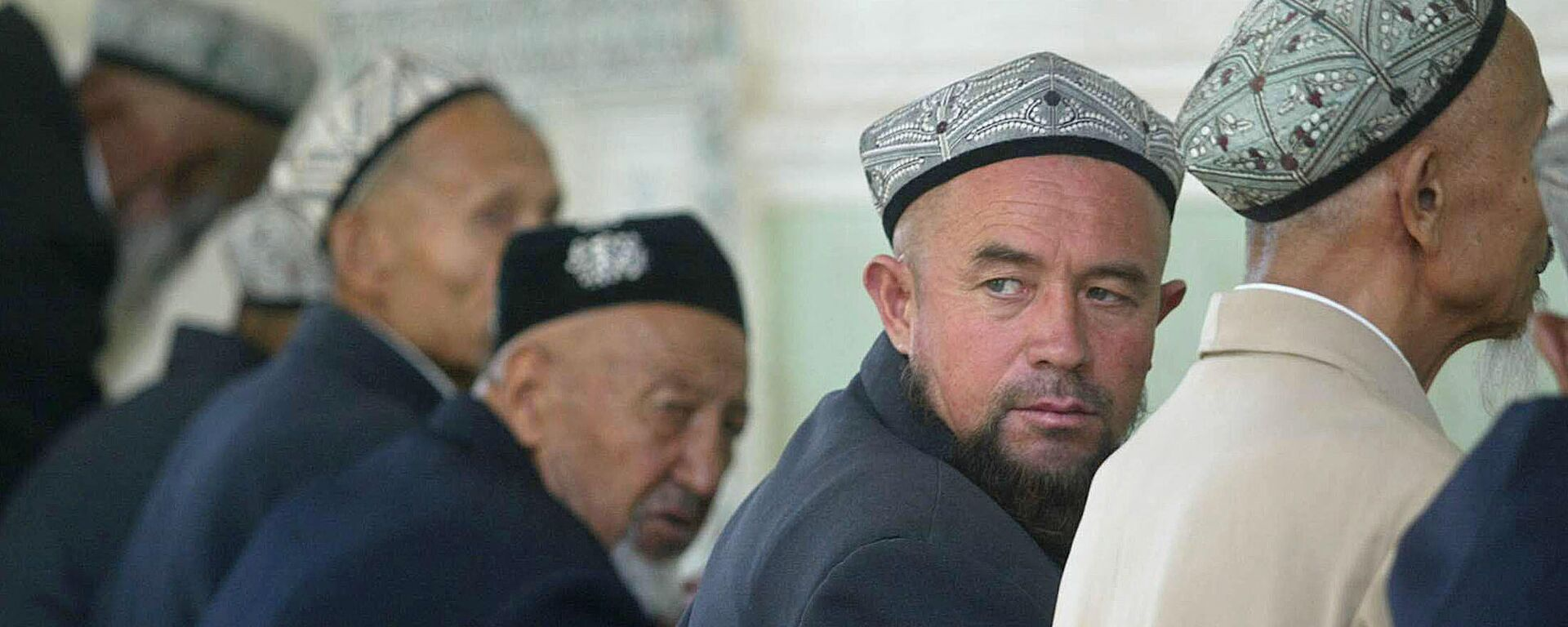 Uiguren im Nordwesten Chinas beim Besuch des Nachmittagsgebets - SNA, 1920, 10.03.2021