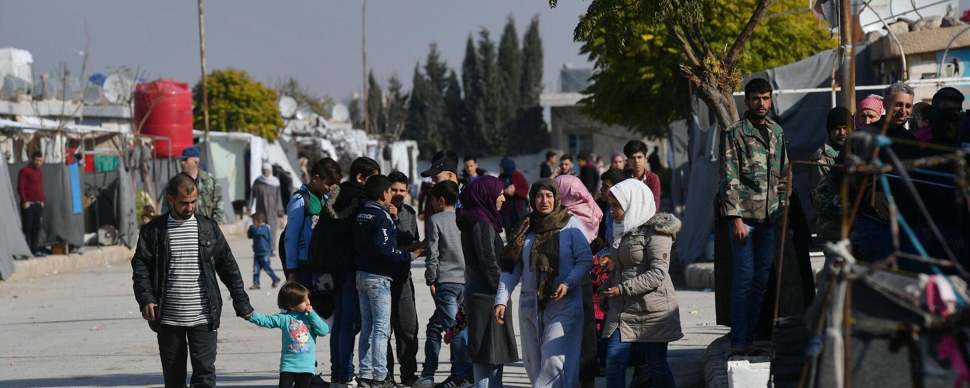 Flüchtlingslager unweit von Damaskus, 2019 - SNA, 1920, 10.03.2021