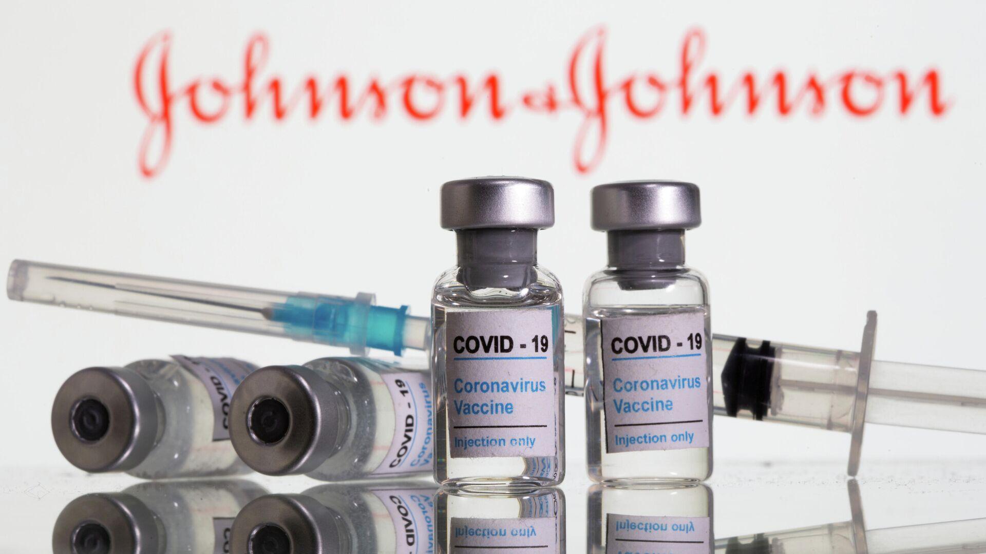 Corona-Impfstoff vom US-Hersteller Johnson & Johnson (Symbolbild) - SNA, 1920, 09.04.2021